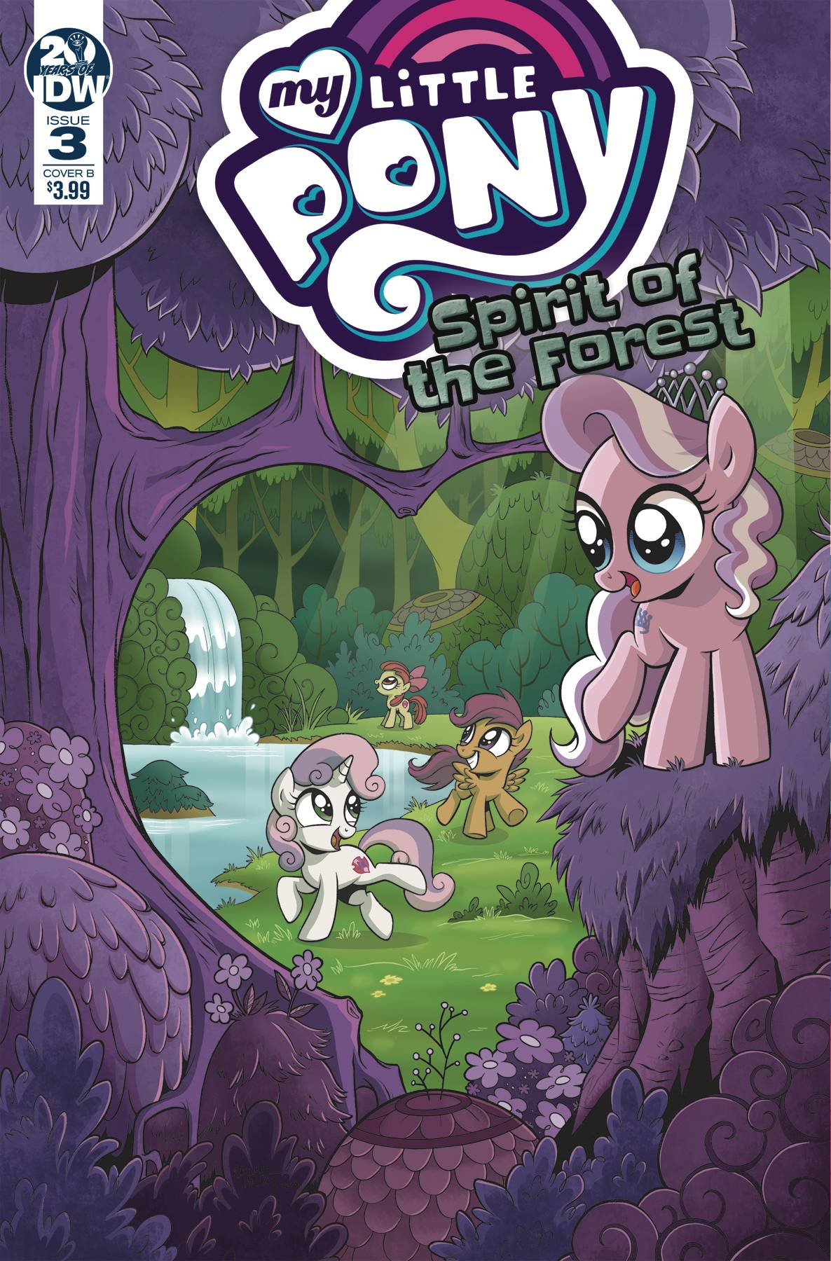 MY LITTLE PONY SPIRIT OF THE FOREST 3 of 3 CVR A HICKEY.jpg