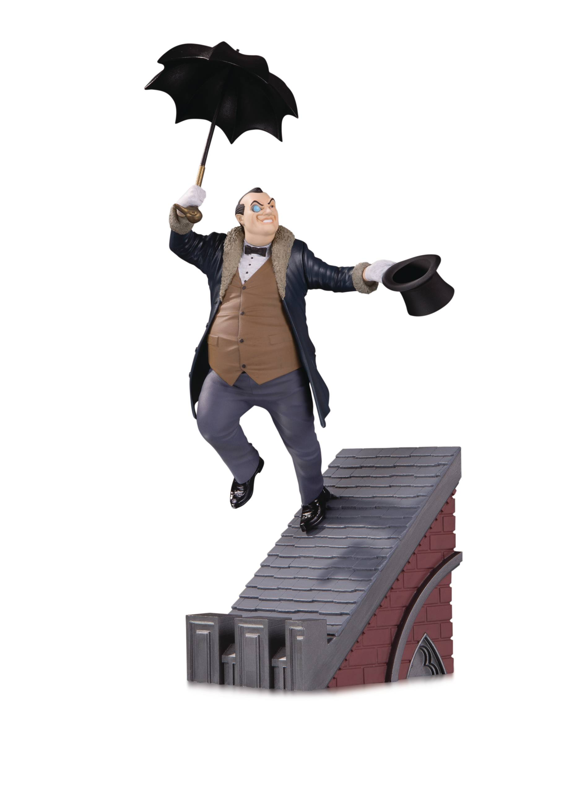 BATMAN ROGUES GALLERY MULTI PART STATUE THE PENGUIN.jpg