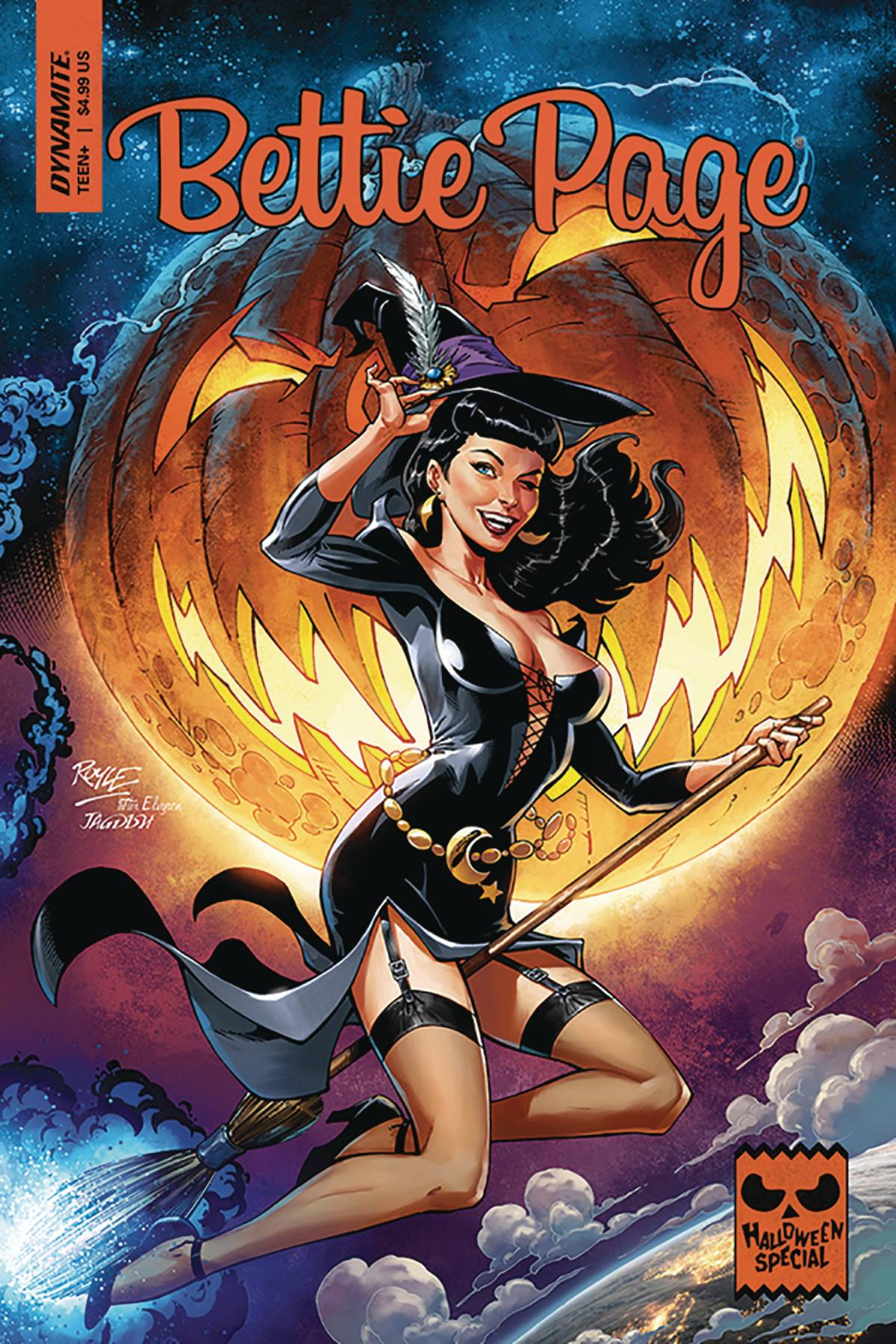 BETTIE PAGE HALLOWEEN SPECIAL ONE SHOT CVR A ROYLE.jpg