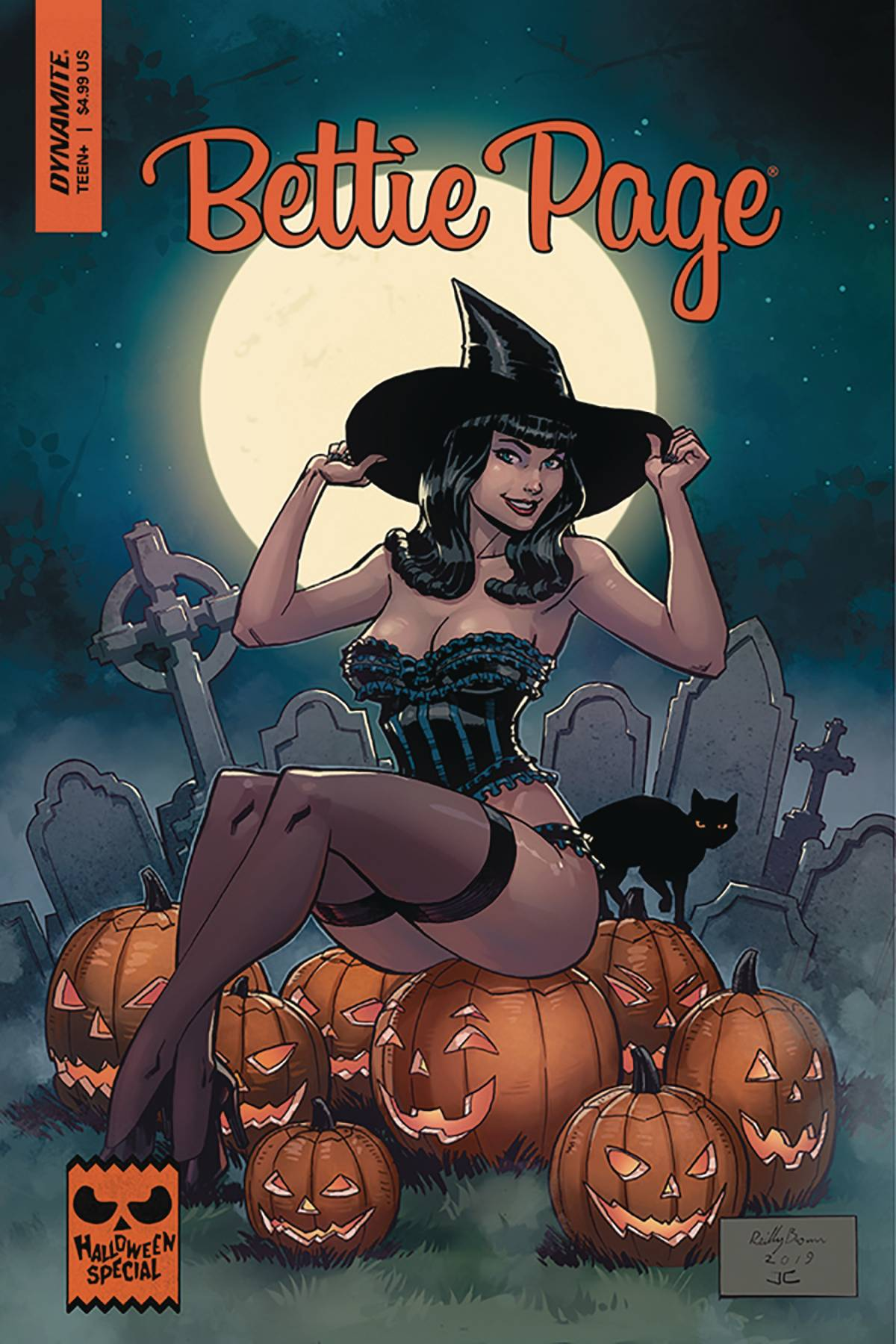 BETTIE PAGE HALLOWEEN SPECIAL ONE SHOT CVR B BROWN.jpg