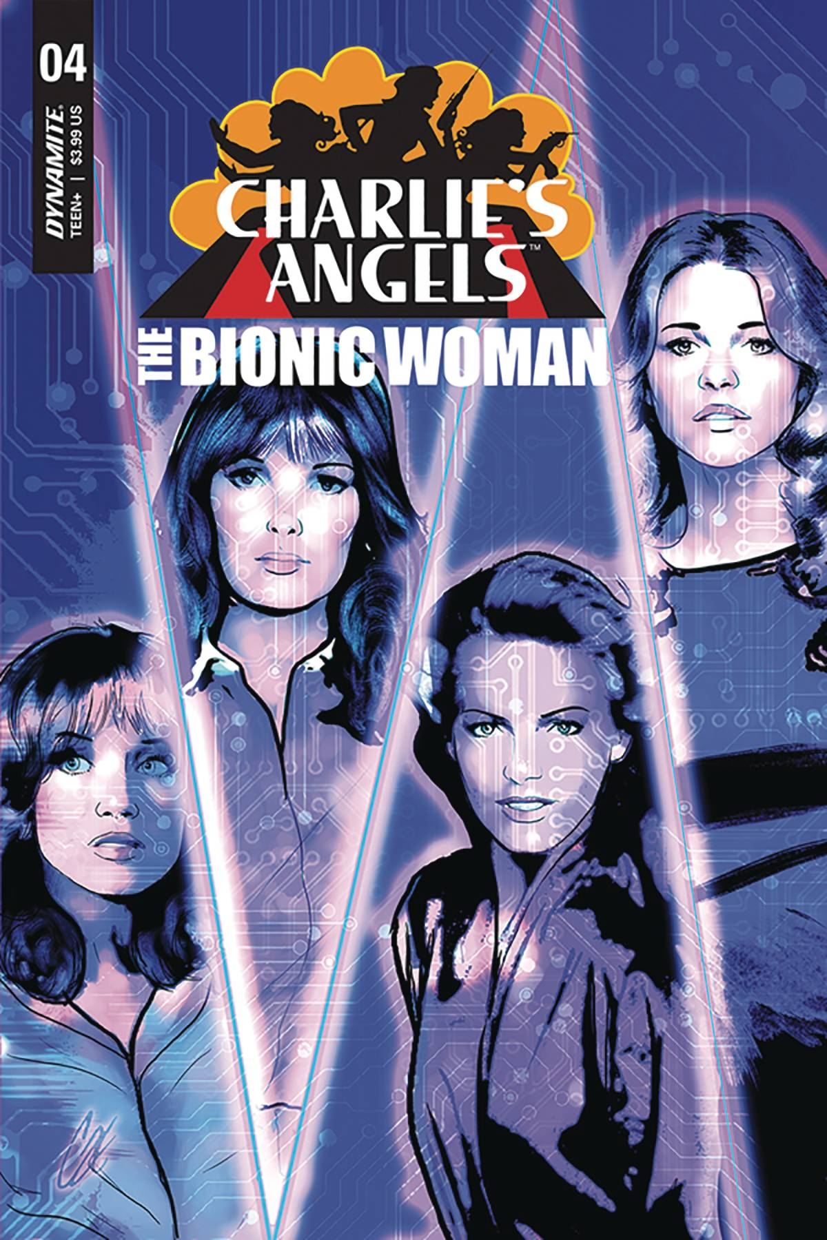 CHARLIES ANGELS VS BIONIC WOMAN 4 CVR A STAGGS.jpg