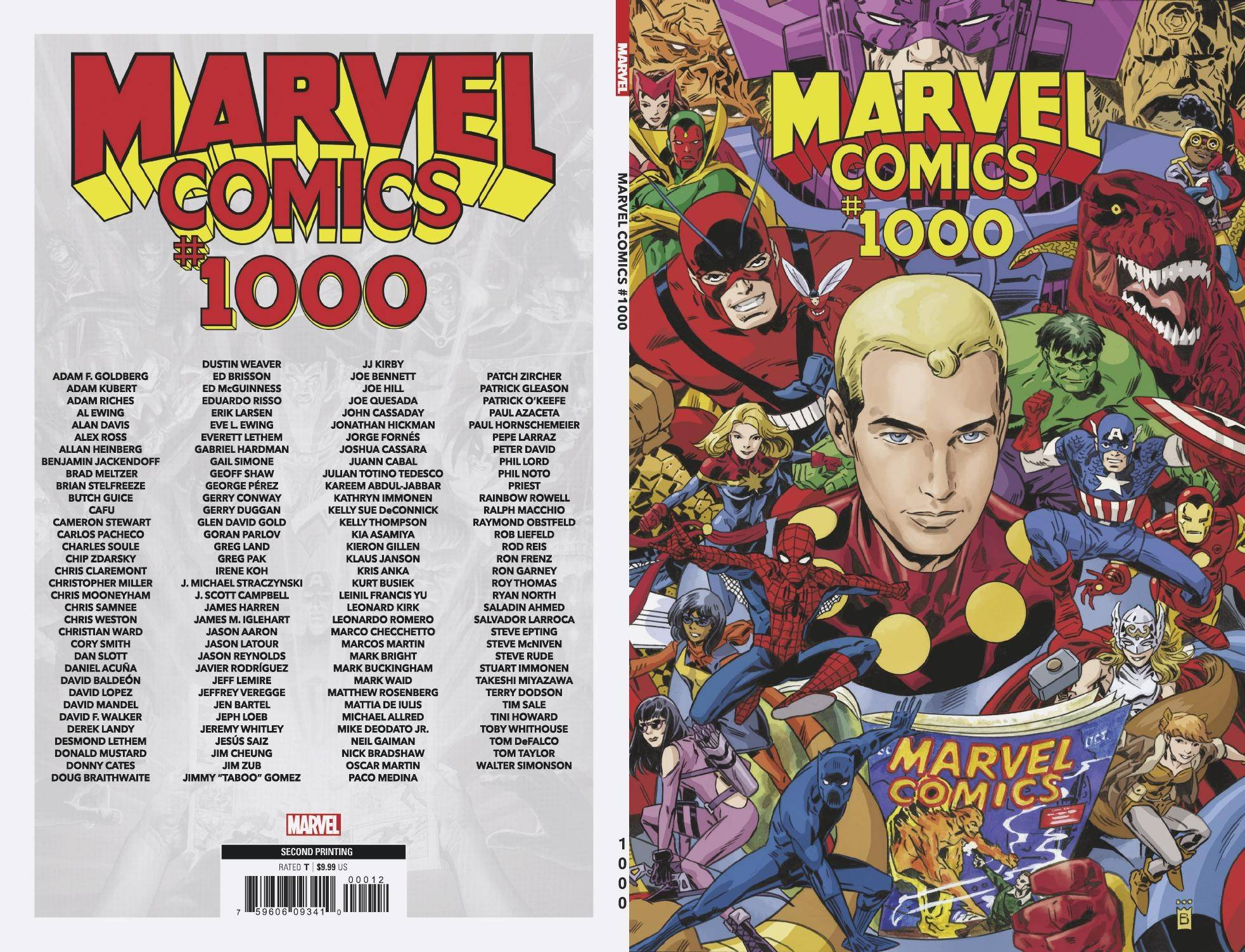 MARVEL COMICS #1000 2ND PTG BUCKINGHAM VAR.jpg