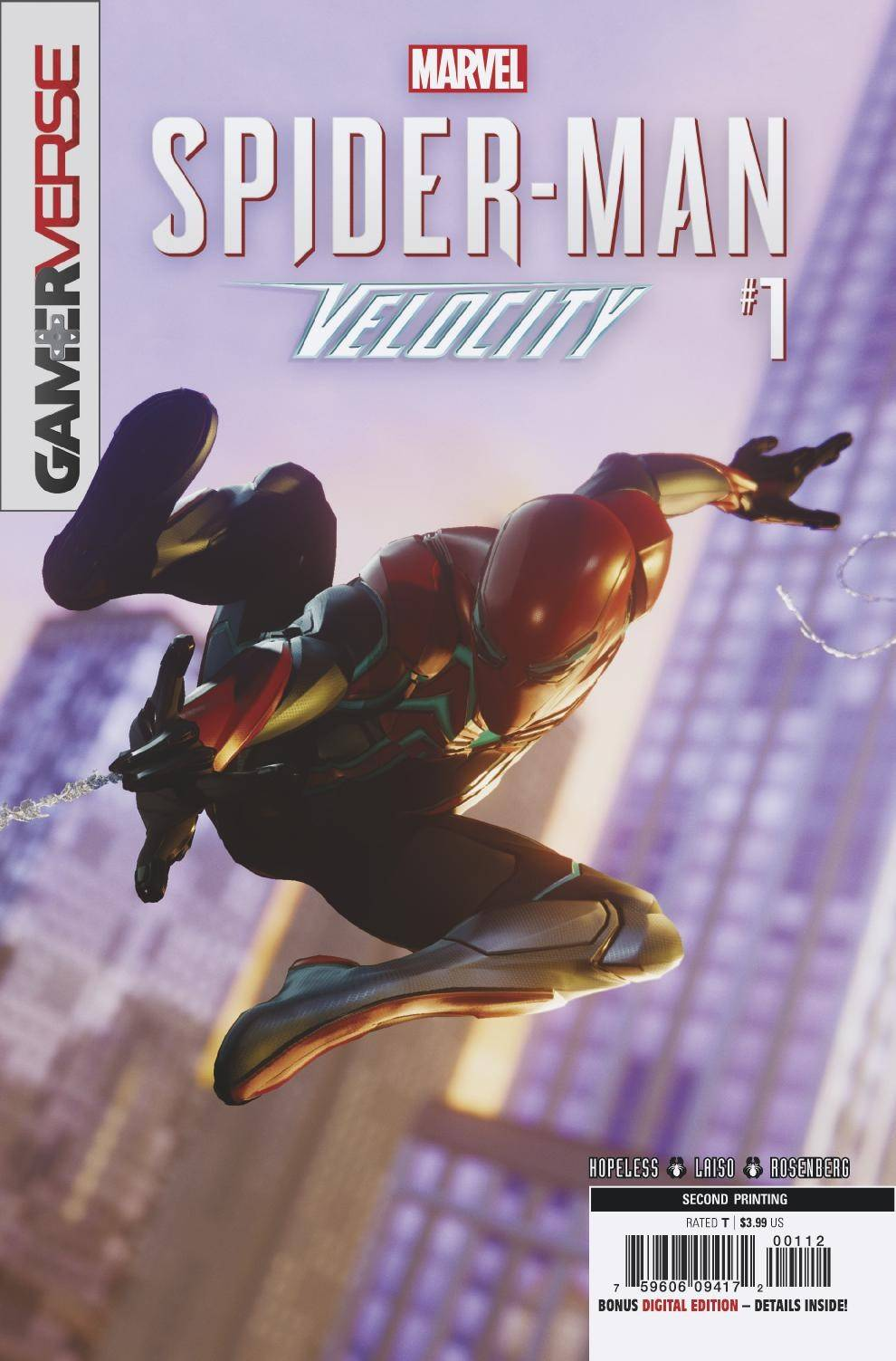 SPIDER-MAN VELOCITY #1 (OF 5) 2ND PTG VAR.jpg