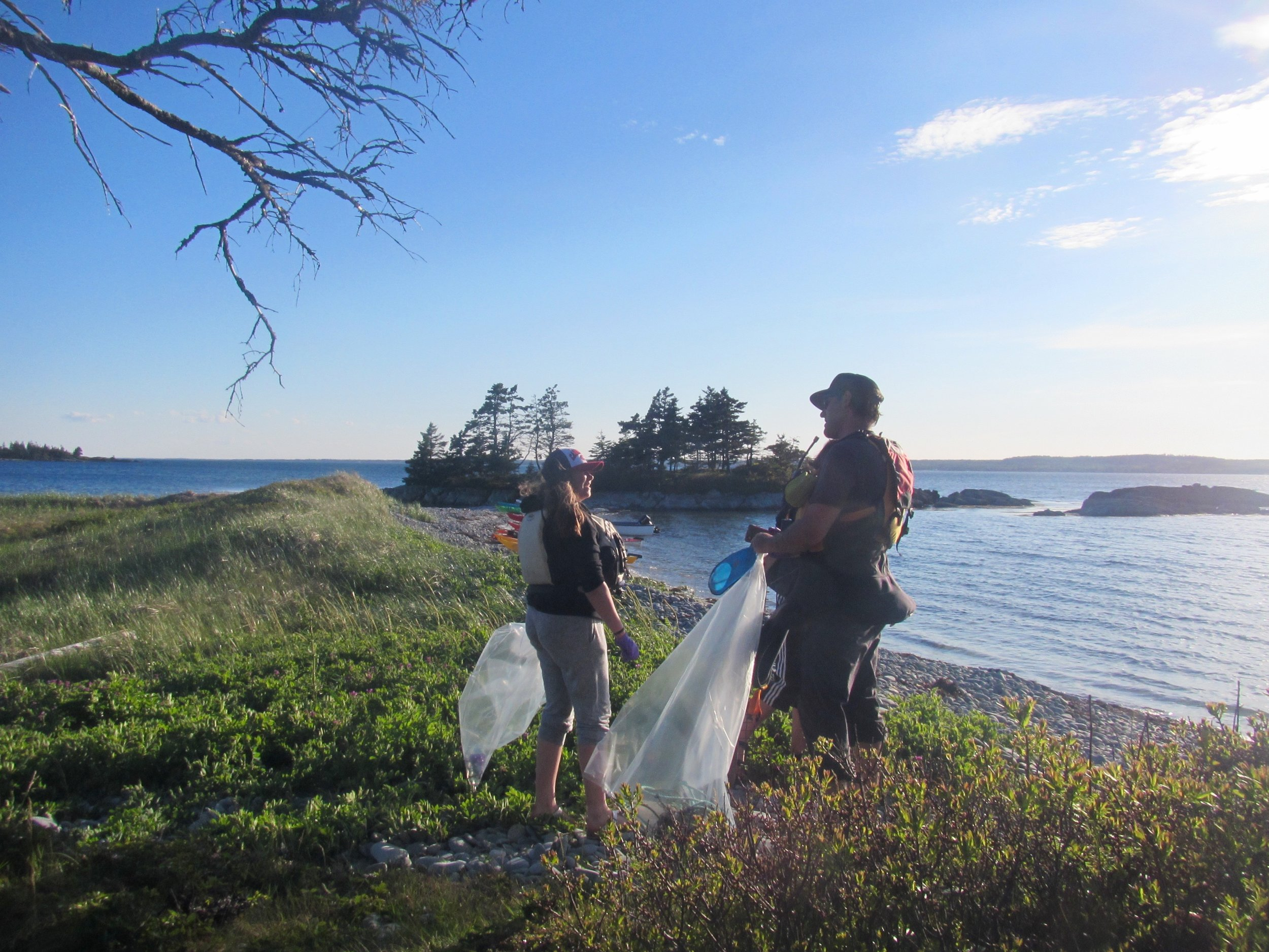 Cape LaHave Island Clean Up
