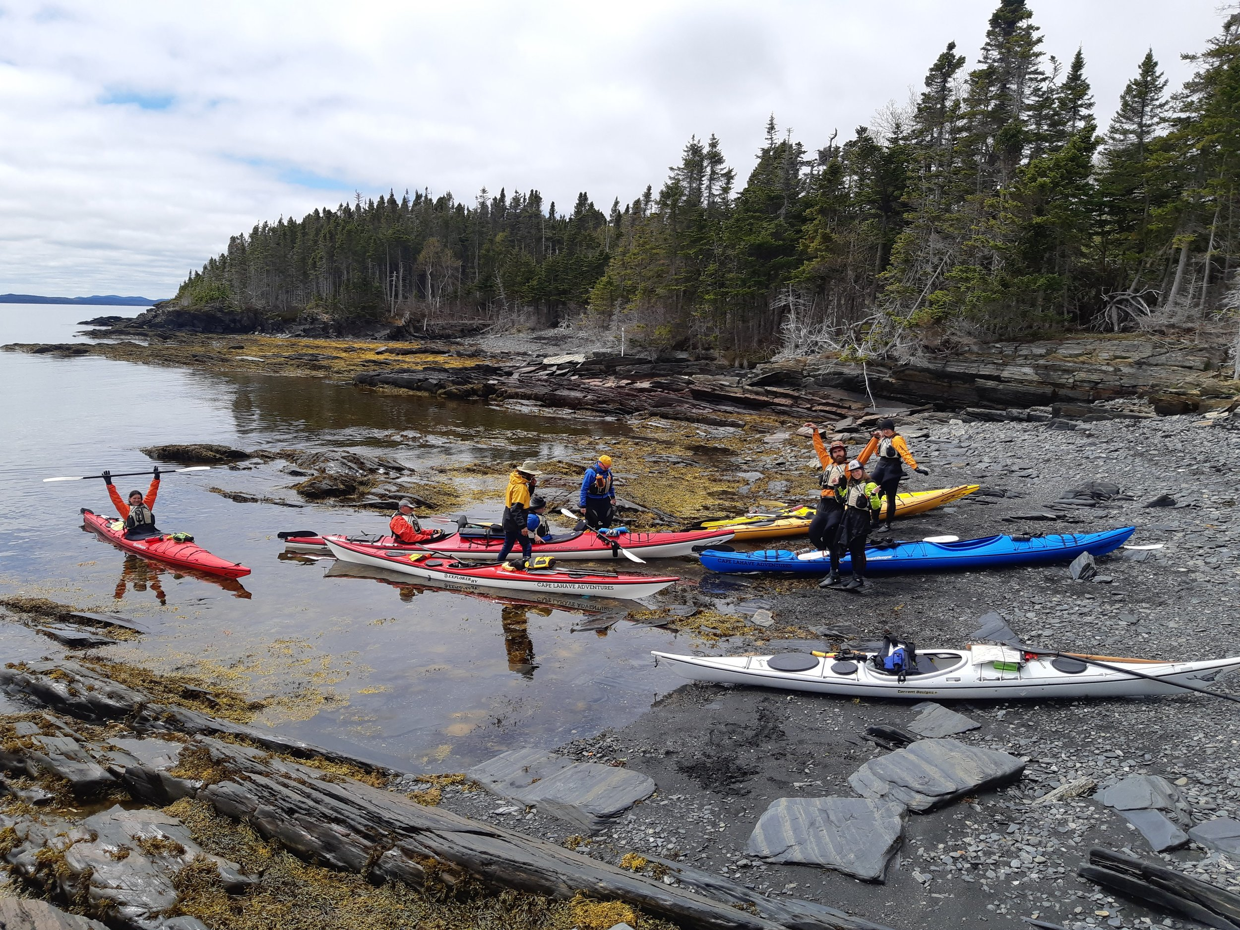 Kayaking Newfoundland