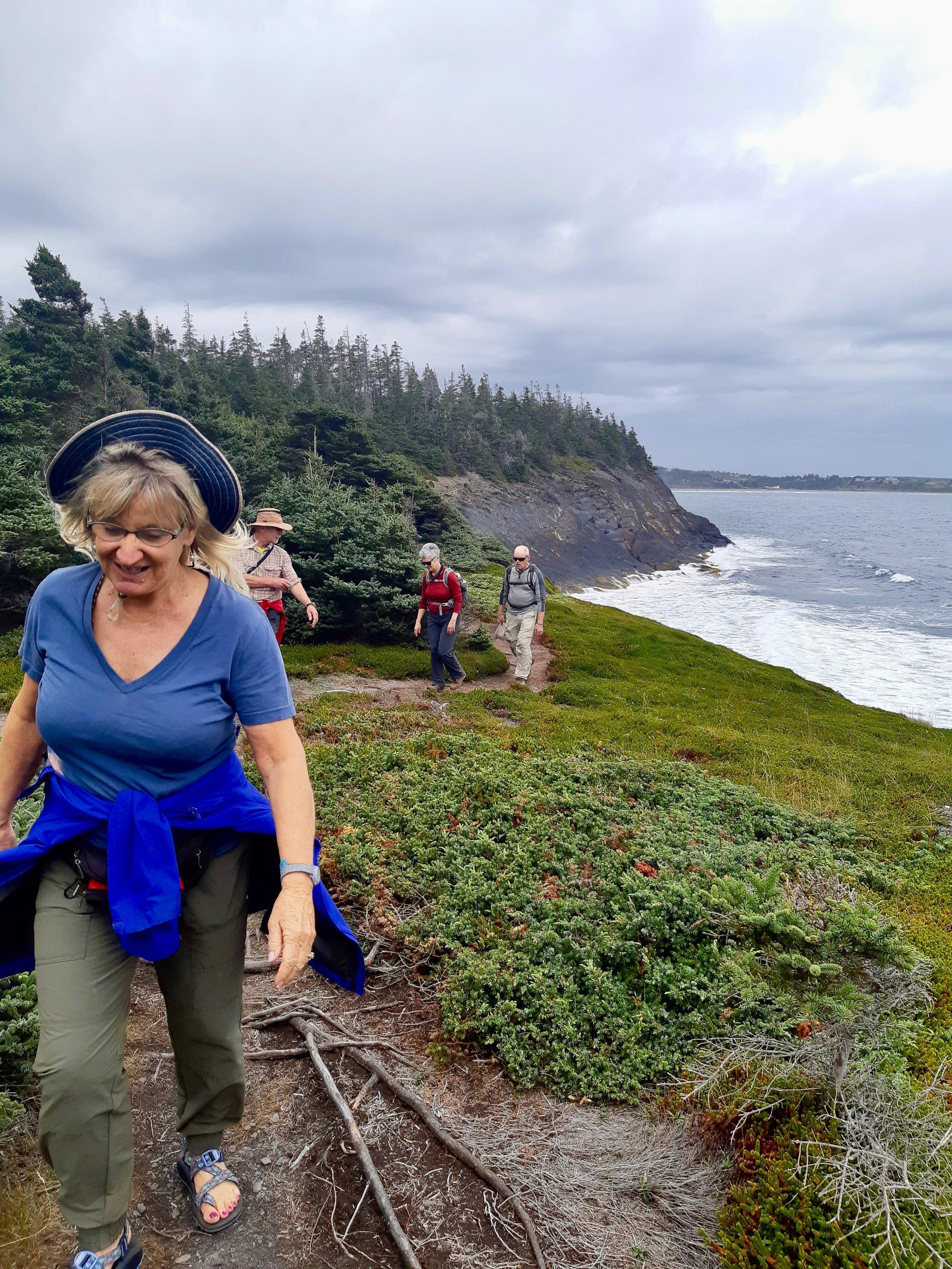 Gaff Point Hike Nova Scotia
