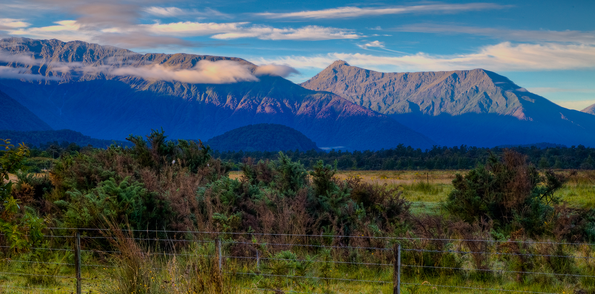 Haast sunrise, NZ