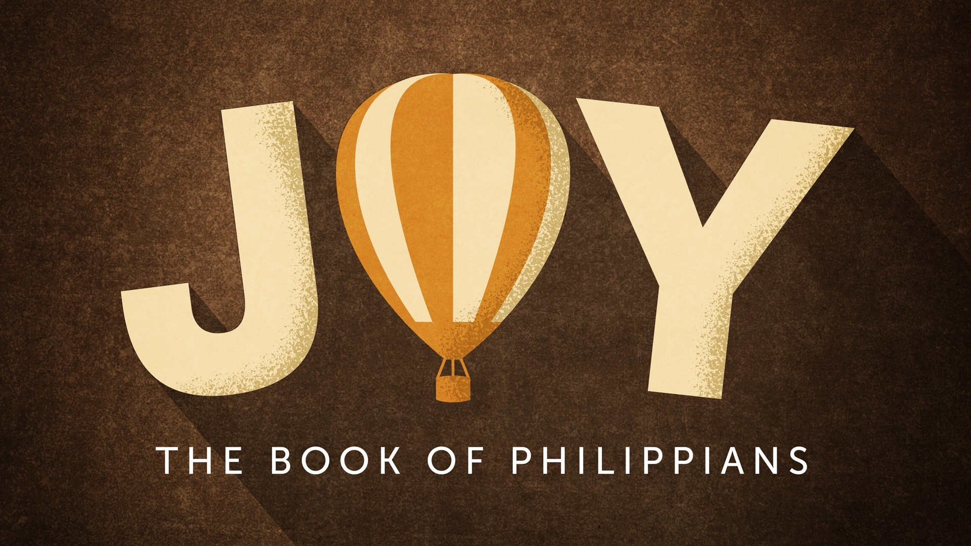 Joy comes from putting Christ ahead of everything in your life and being unified with others who do the same.