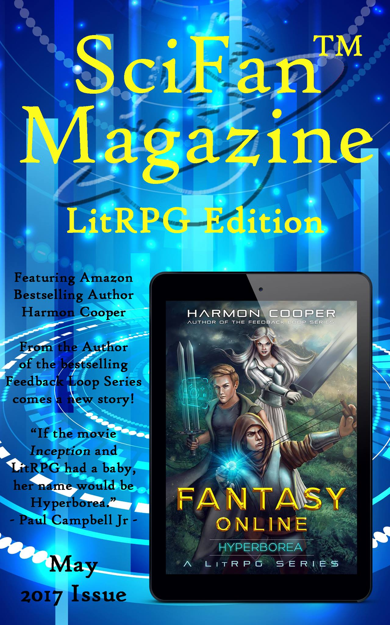 SciFan Magazine LitRPG Edition