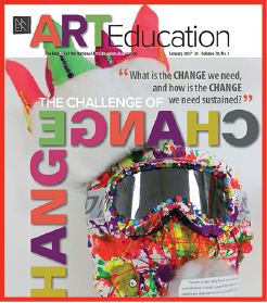 Serving on the review board on Art Education, journal of NAEA