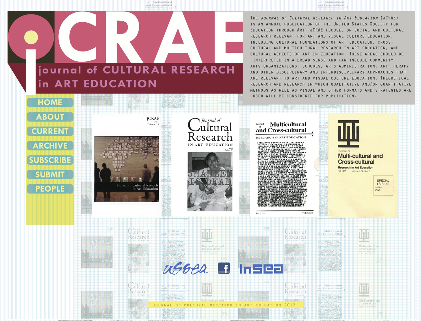 Serving on the review board on the Journal of Cultural Research in Art Education (JCRAE)