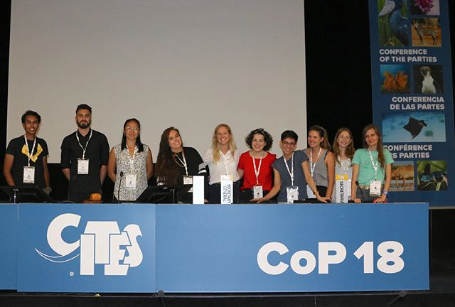 And here we are! Our #youth4wildlife delegates hit the ground running this week with @CITES discussions, statement preparation, policy tracking and lots of networking.  #CITESCoP18 #YouthDevelopment #ConservationOptimism #natureconservation #wildlifeconservation #wildlifetrade #illegalwildlifetrade #wildlifecrime #professionaldevelopment #wildlifetrafficking #iamy4wc #staywild