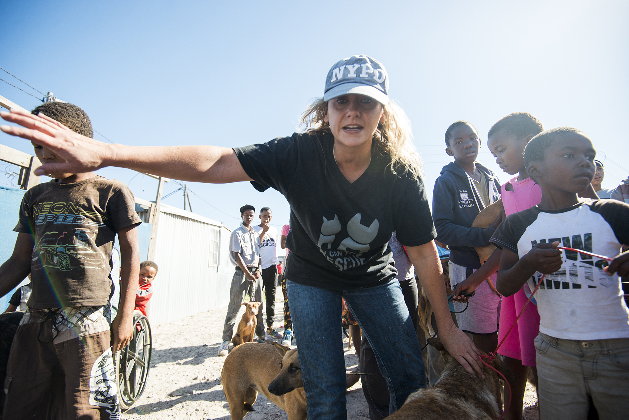Rosie, at Blikkiesdorpe - Cape Town/South Africa