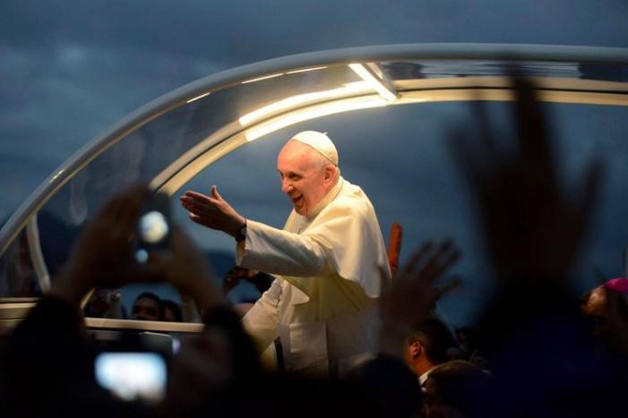 POPE IN RIO  2013