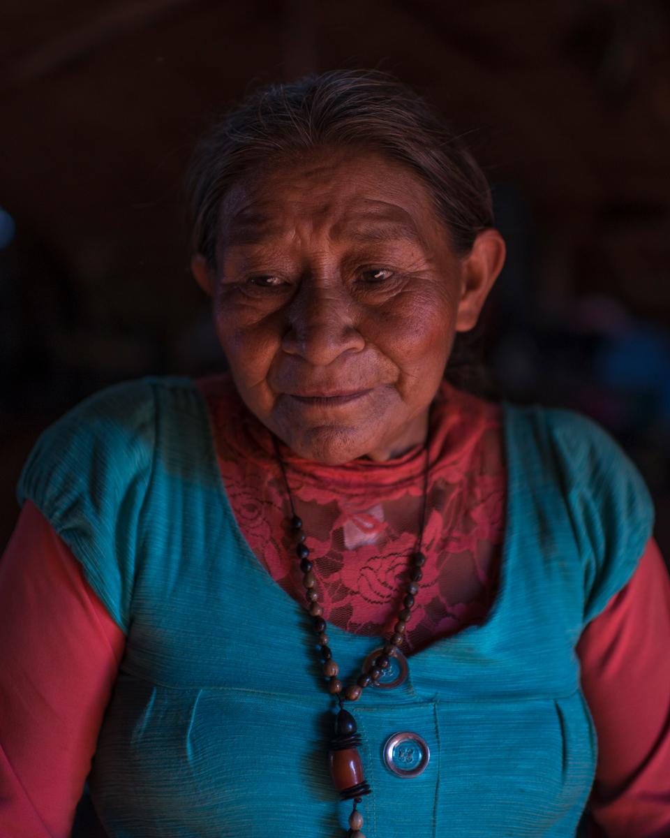Emiliana, 70, Kaiowá