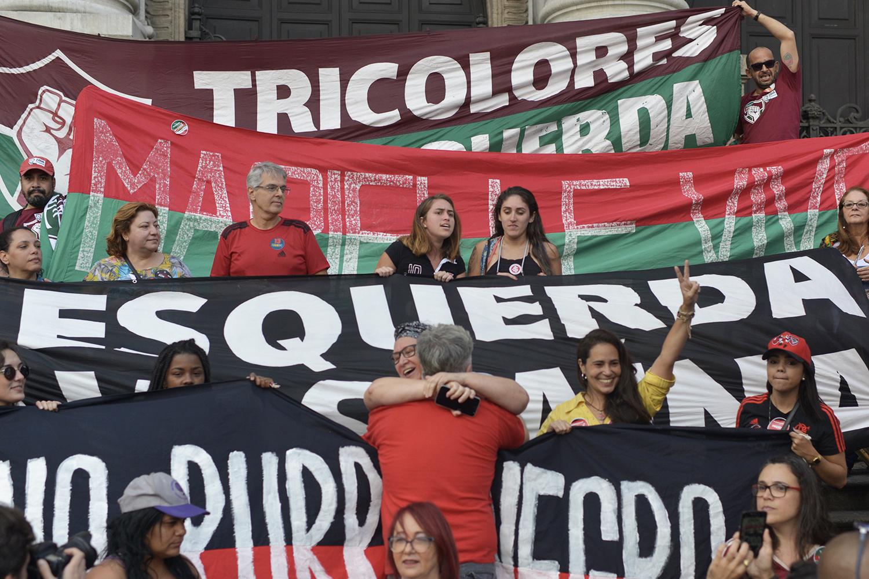 The day that Municipal Theatre became Maracanã. 20 Oct 2018 © Lucas Landau