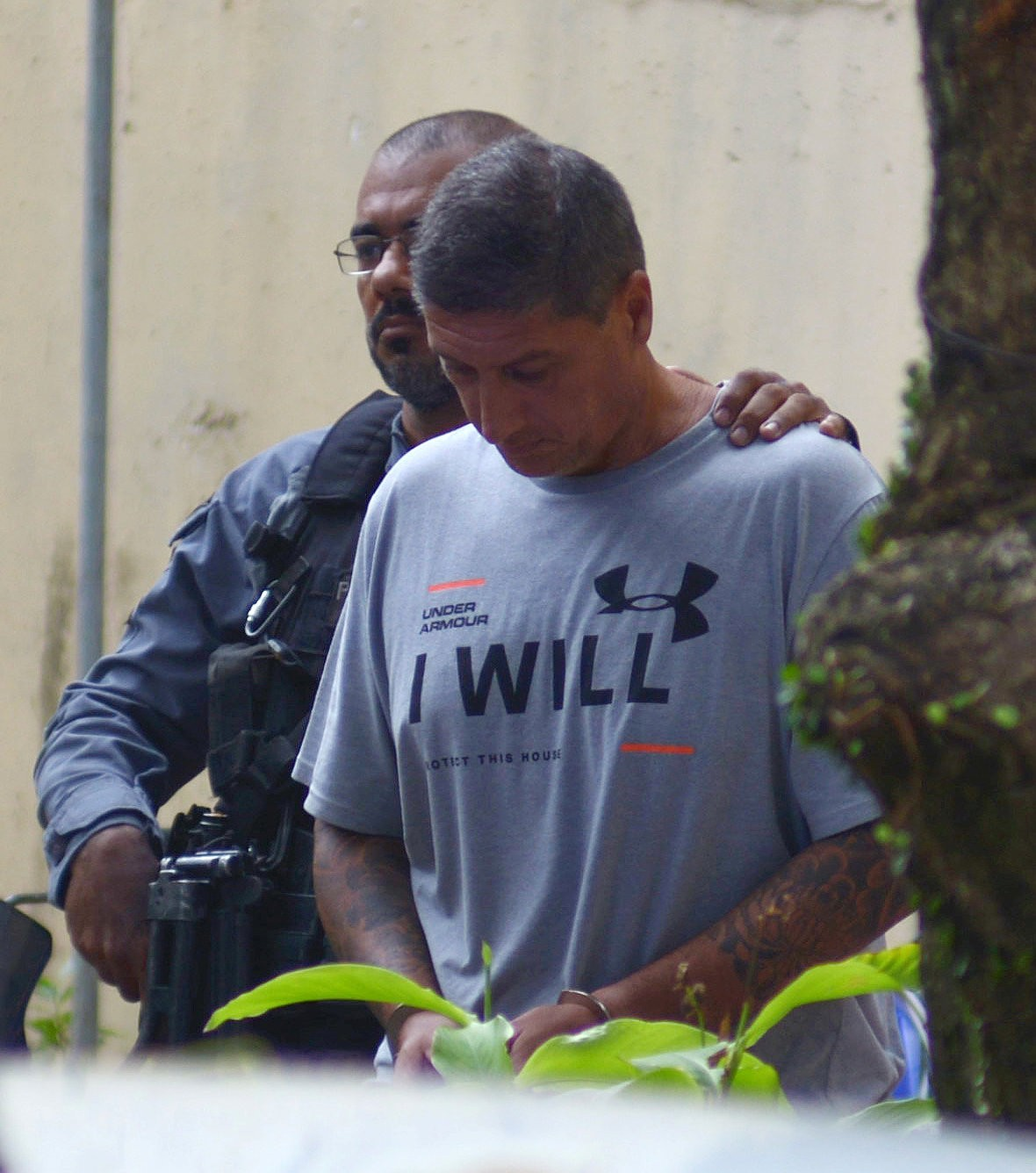 (   NYT   ) Investigators say Ronnie Lessa, suspected in the murder of Marielle Franco, has ties to Brazil's president. March 14, 2019. REUTERS/Lucas Landau
