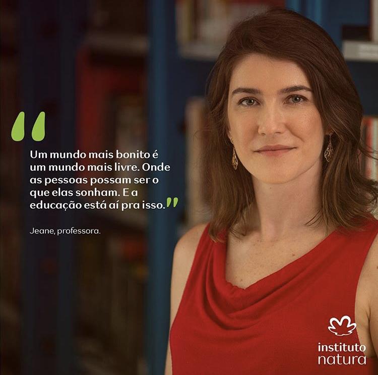 Jeane Pignaton, professora de Biologia da Escola Viva São Pedro, em Vitória/ES.