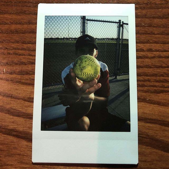 Softball Polaroids after a 3 win day. PC: @taylorrnoellle • #softball #polaroid #gameday #winning #artsy