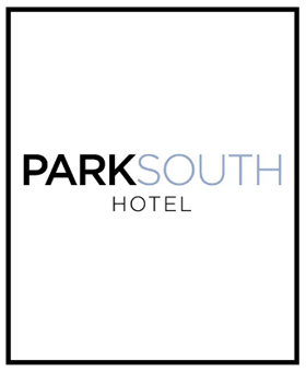 """Park South Hotel   Press Mention """" Our Beautiful New Boutique Manhattan Hotel """", 2017   """"Our lobby has been redesigned and transformed into a cozy social gathering place. Wall art throughout the hotel connects guests with New York's visual richness via a commissioned series of contemporary photographs by  Nicole Capobianco . These images represent seven iconic NYC parks, including the High Line, Central Park, Bryant Park, Madison Square Park, Union Square, Washington Square Park, and Battery Park. Our one-of-a-kind library features a collection of food and beverage books curated by famed Upper East Side bookstore, Kitchen Arts & Letters."""""""