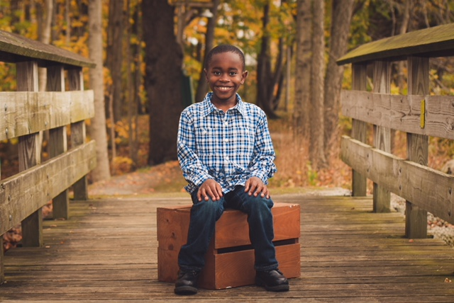 Dahelson Sleasman, age 9.