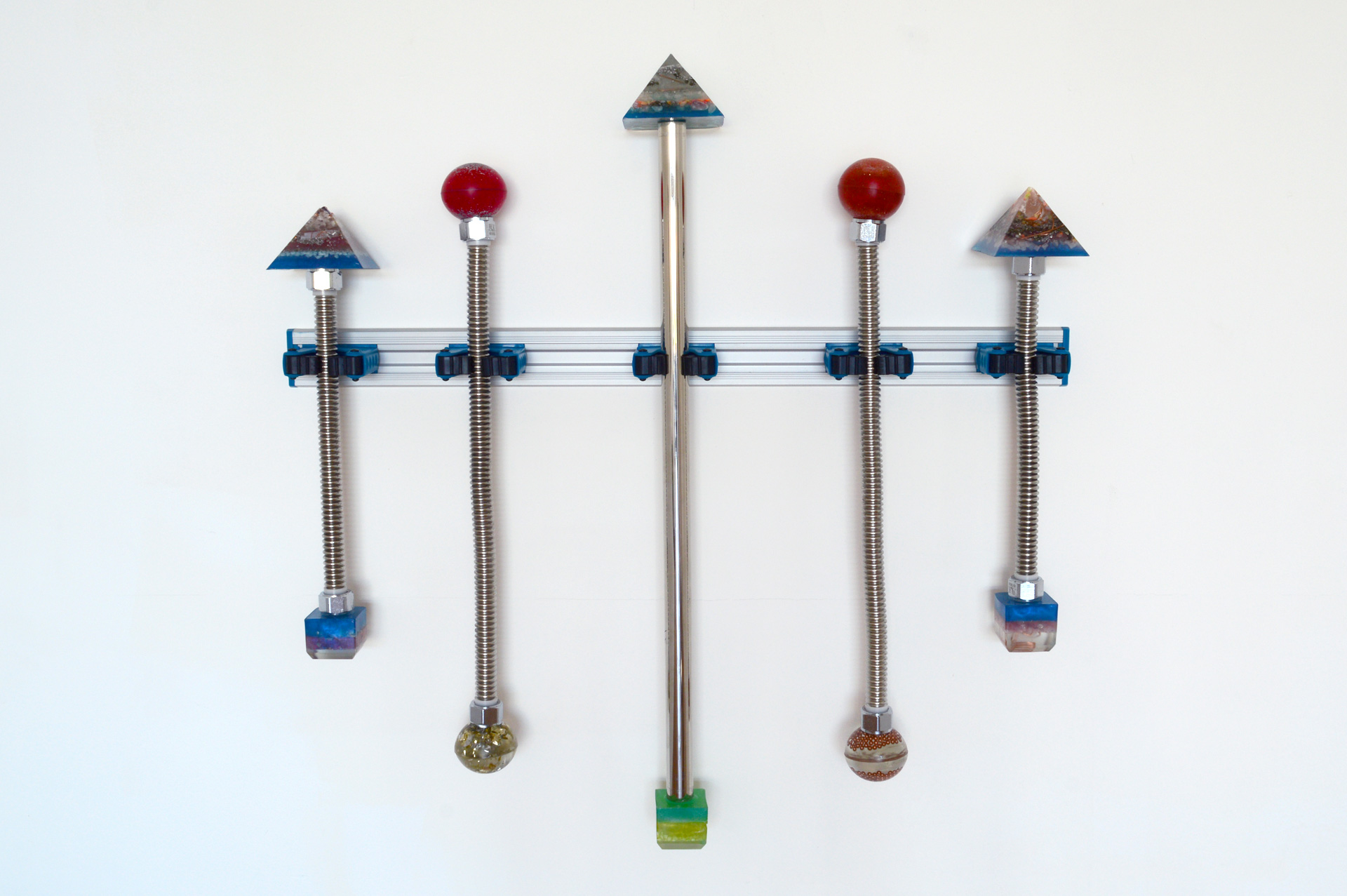 Chakra Sticks With Battle Damage, 2016
