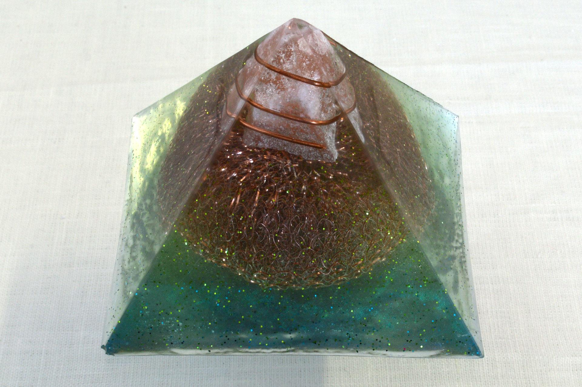 Orgonite Pyramid, 2016