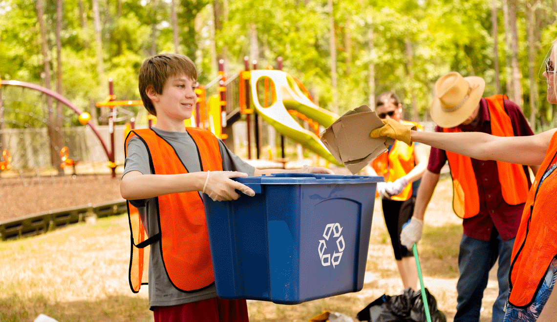 Take out trash