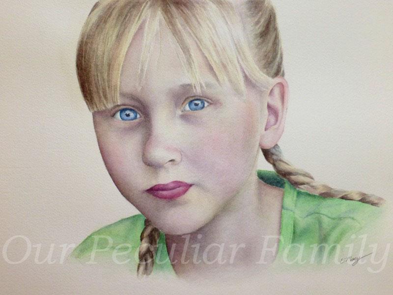 Watercolor by Elisabeth Macy