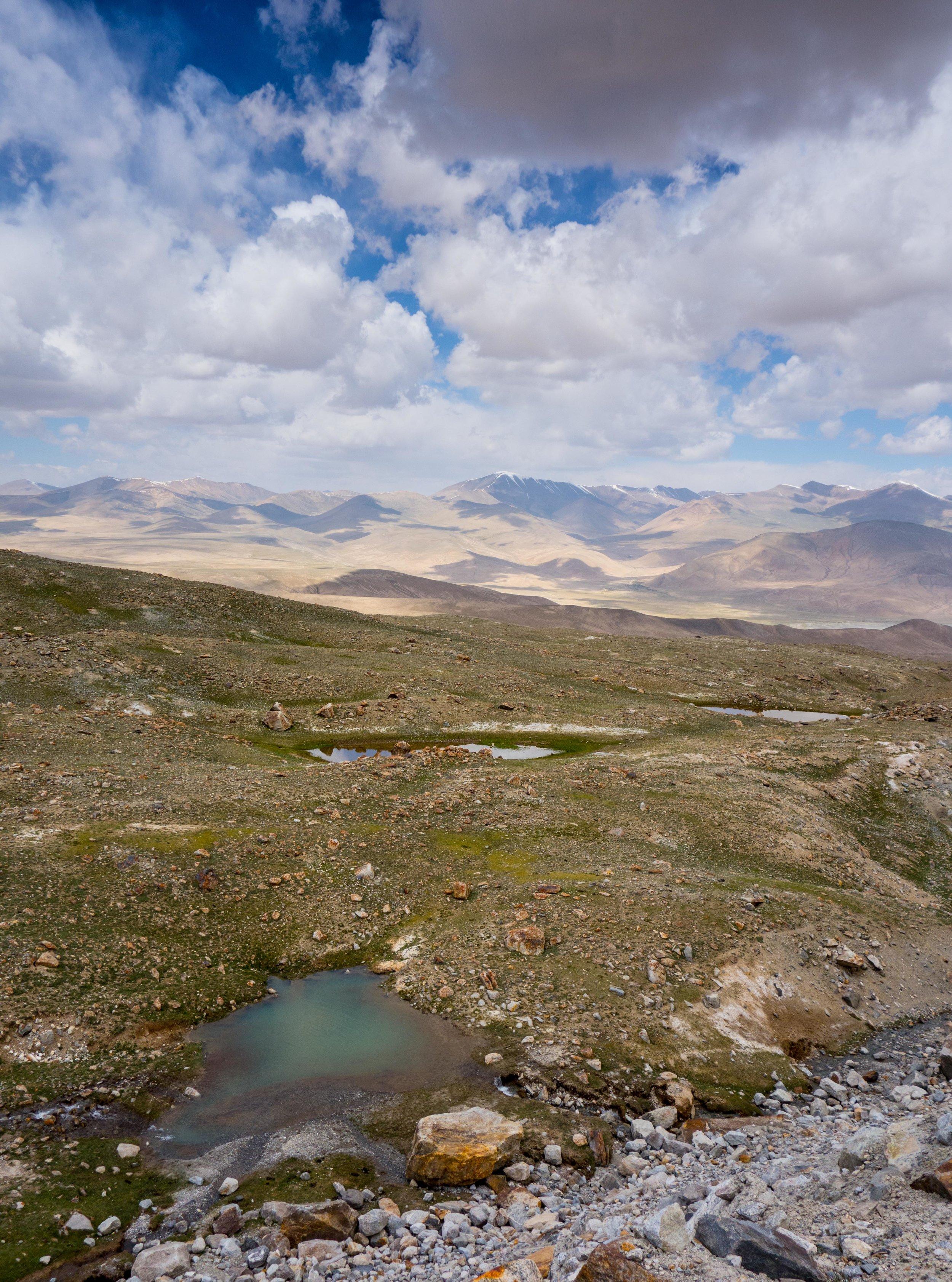 Near Mustagh Ata base camp, Karakoram Highway, Western China