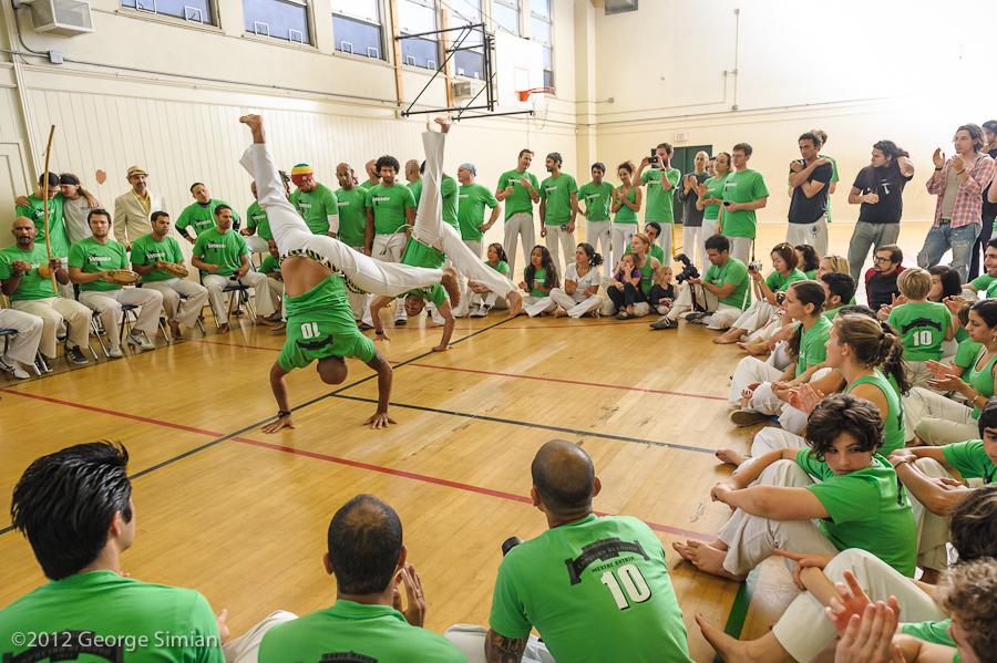Sister school Capoeira Besouro Los Angeles Batizado 2012