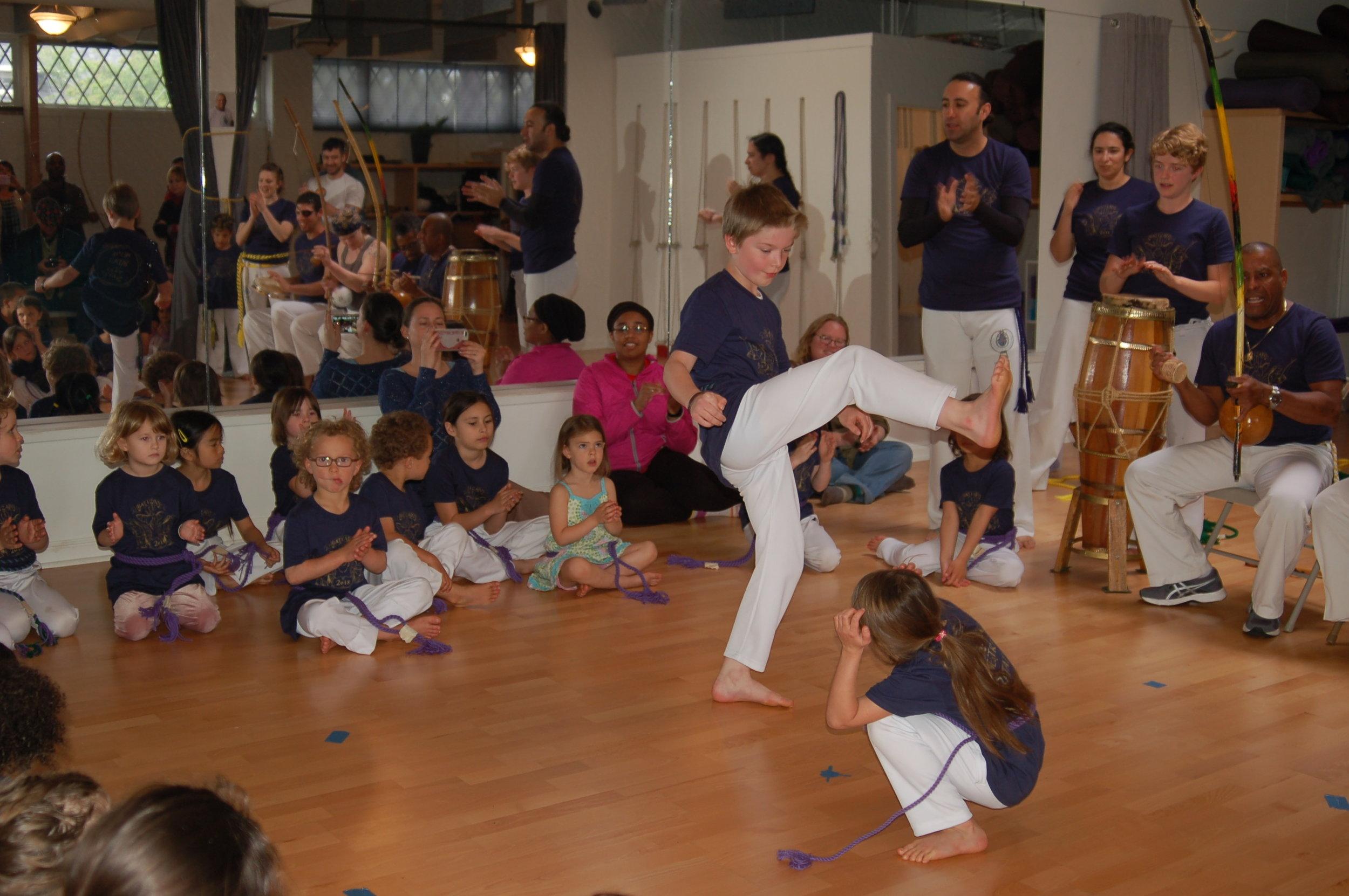 Capoeira Besouro Oregon Batizado 2018 7