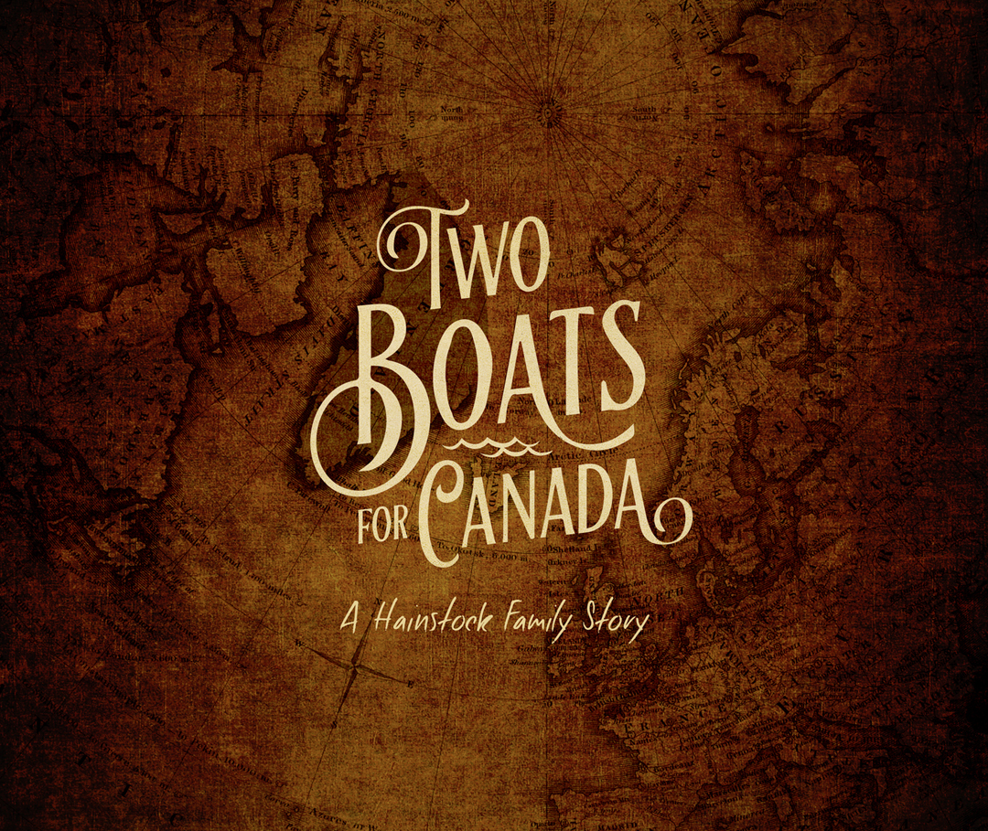 "The reunion pictured above also triggered a publishing project which finally came off the presses this past summer, ""Two Boats For Canada"". The 120 pages and more than 550 photographs tell the stories of the families of our Mom and Dad. Those two journeys began in England in the early 1800s, ending in southern Manitoba where Jim and Sally met and married. Almost half of the family members pictured above are experienced writers, editors, photographers, artist/designers and researchers. What a team!!"