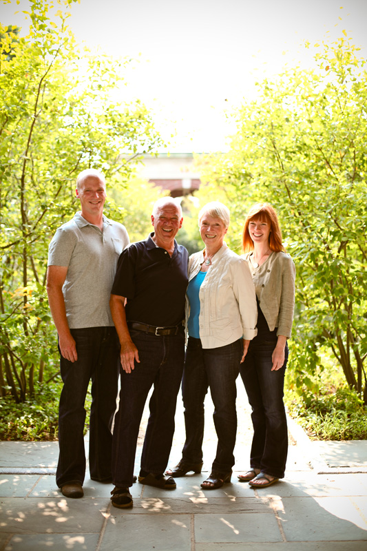 Several years ago, Bob & Judy celebrated their 40th anniversary with son, Ryan, and daughter, Meg. Ryan is a journalism grad who worked in newspapers for a while but went back to university to earn graduate degrees in Education. Meg started with a fine arts degree but also went back to get a graduate degree, this time in Biology. ..