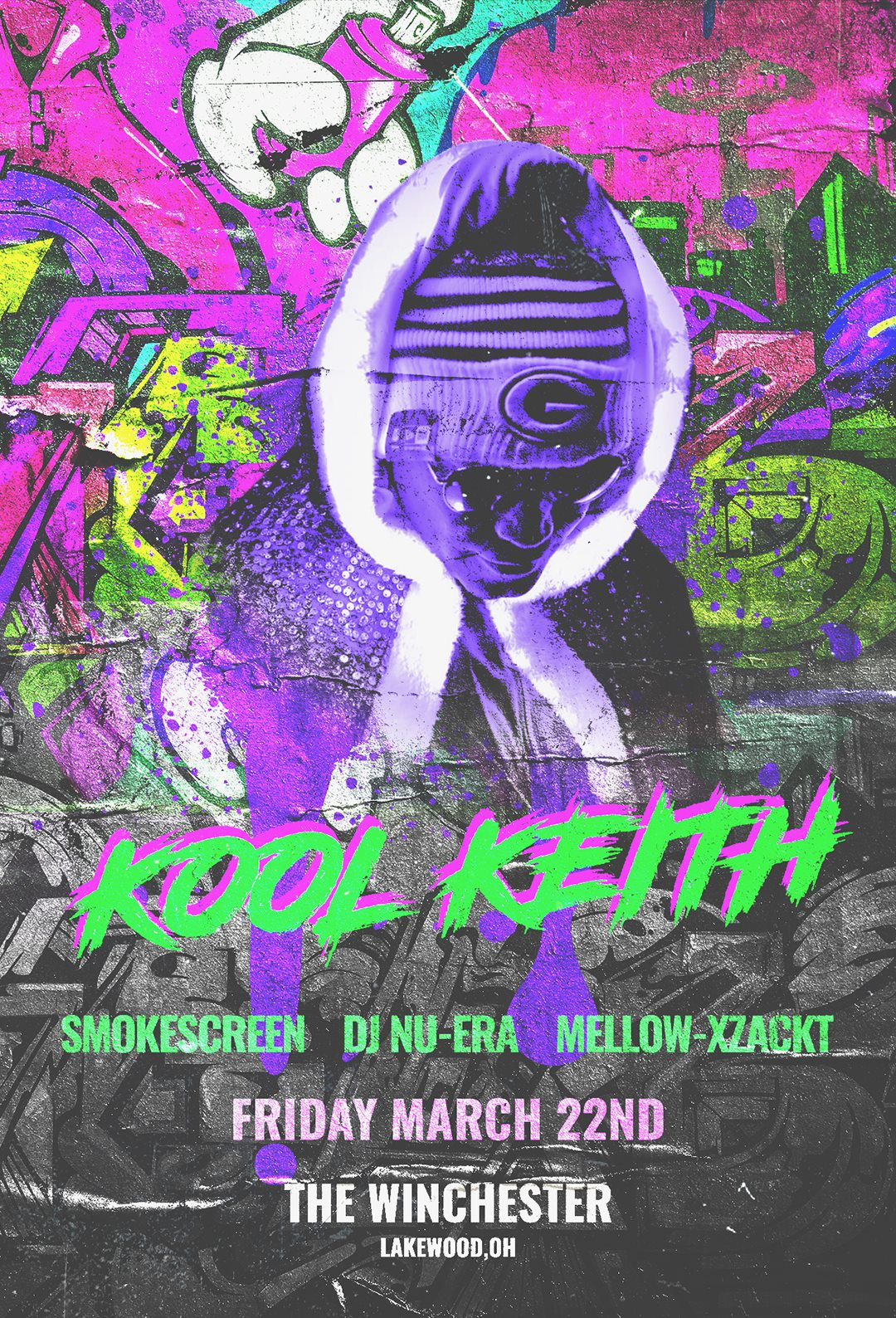 Kool Keith - SmokeScreen DJ Nu•ERA MELLOW-XZACKT