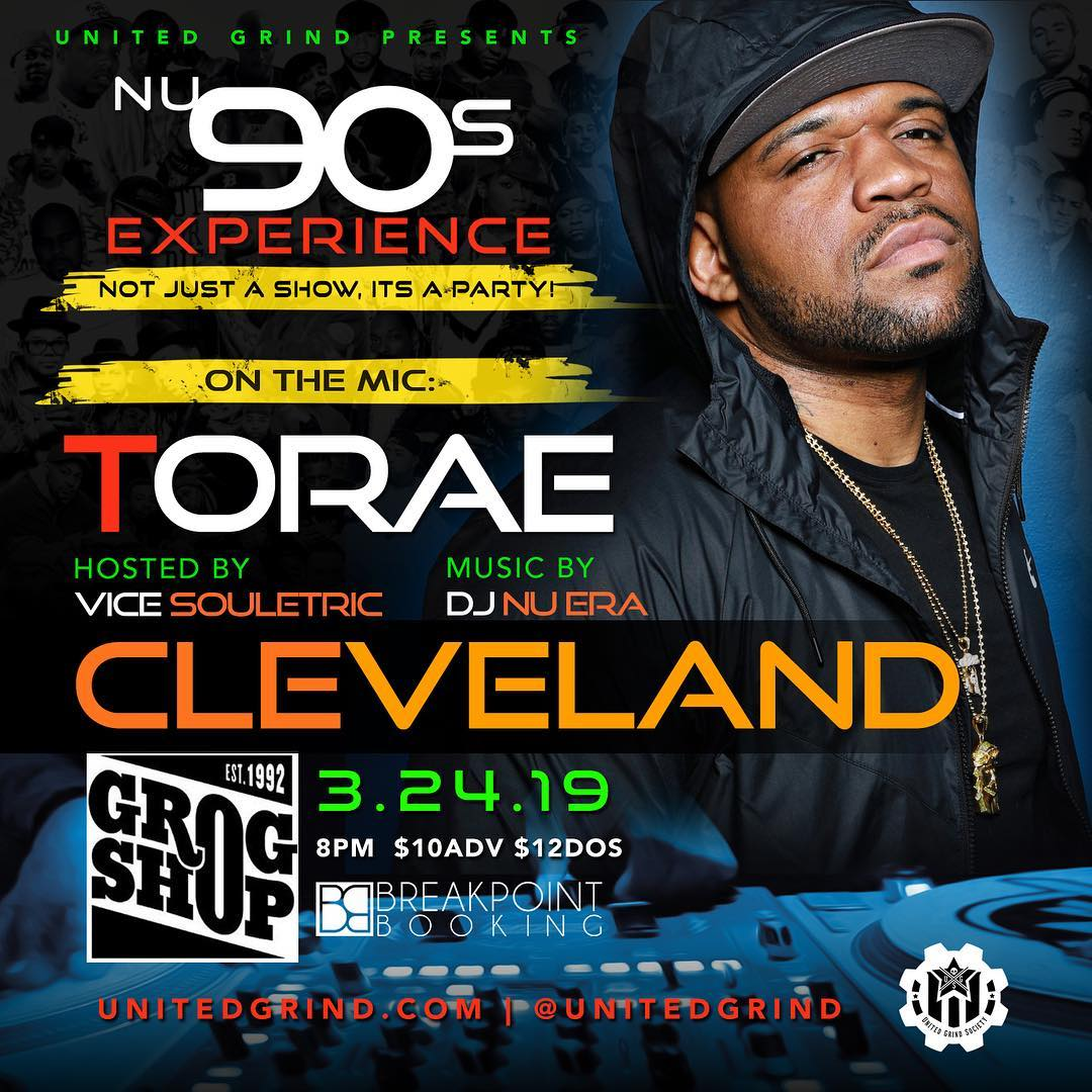 NU 90S Experience featuring Torae - Hosted by Vice Souletric Music by DJ Nu•ERA