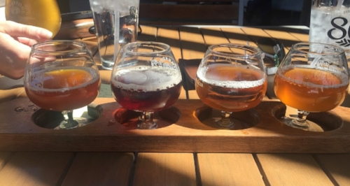 Cheers! Try some New Mexico craft beer!