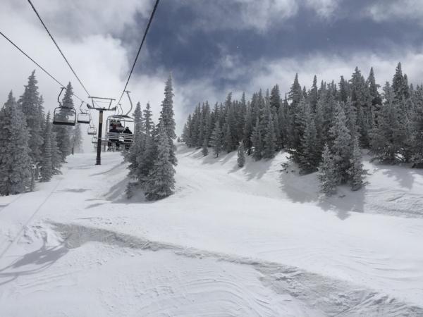 Ski Santa Fe offers great skiing, great views, plus plenty of green chile stew!