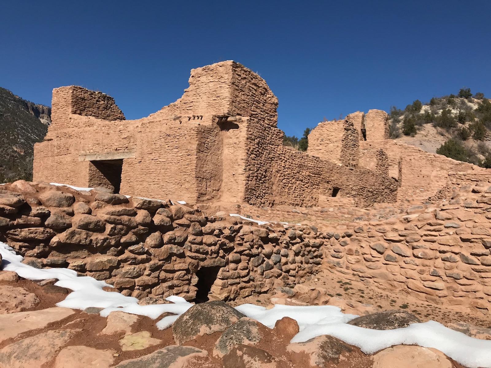 Ruins at Jemez Historic Site // Photo by Kerry M. Halasz