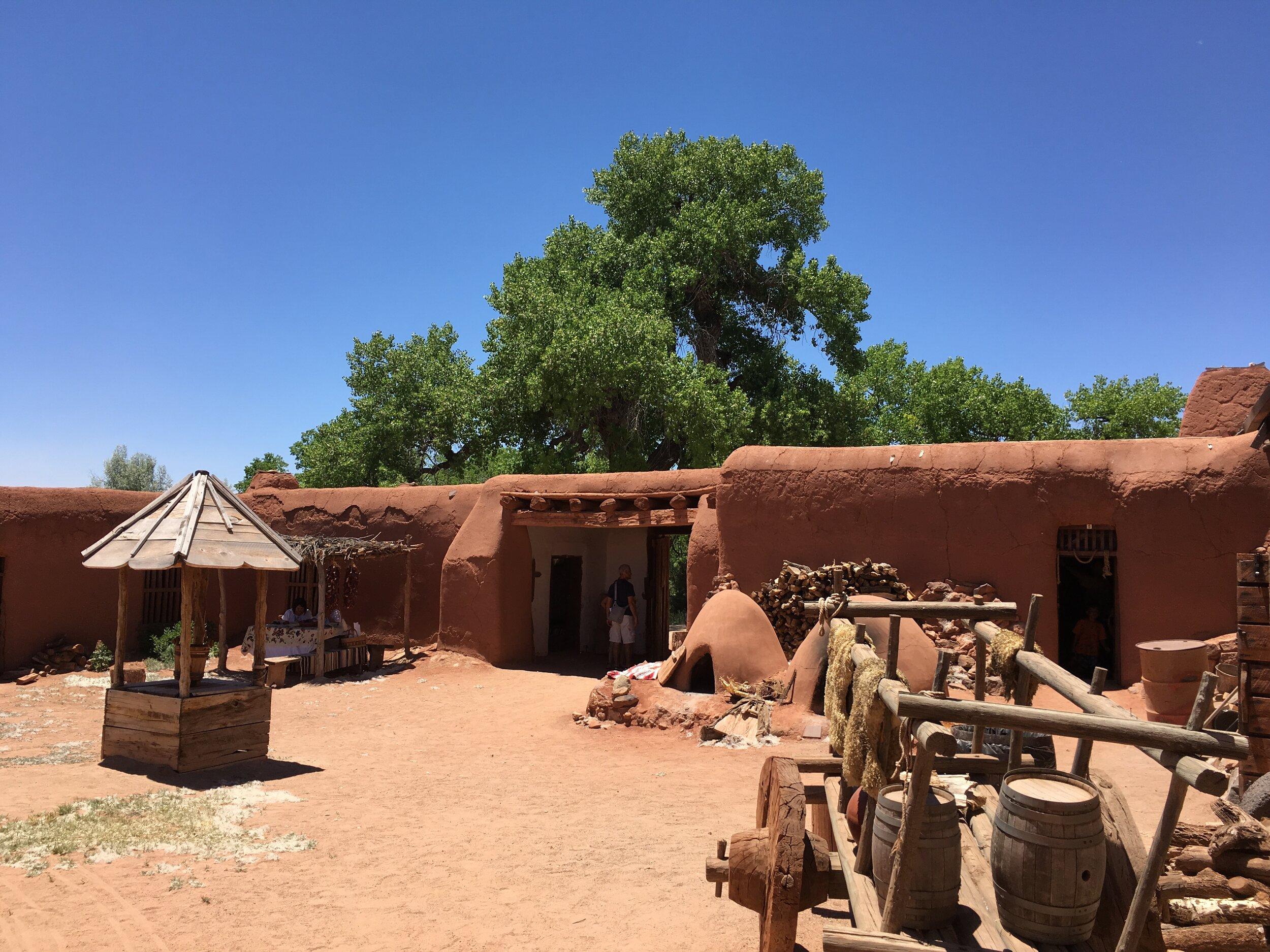 Take a step back in time and experience New Mexico as it was in the 1700s at El Rancho de las Golondrinas