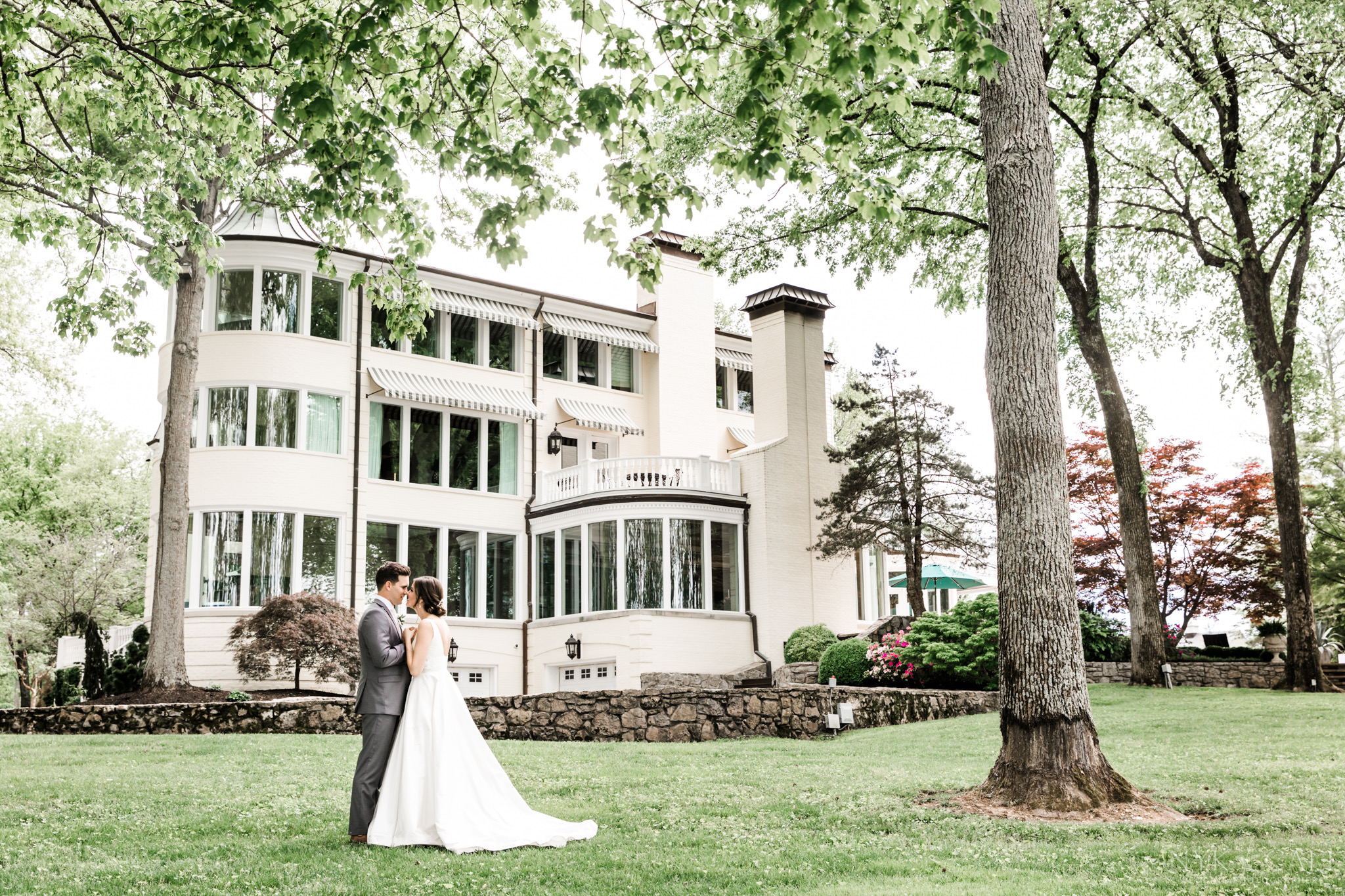 Venue selection is so important - It is so nice when a client comes to us before they have their venue.This way we can help to select a venue that fits them perfectly. It didn't take long for me to know that The Estate at Cherokee Dock would be the perfect backdrop to their wedding weekend!