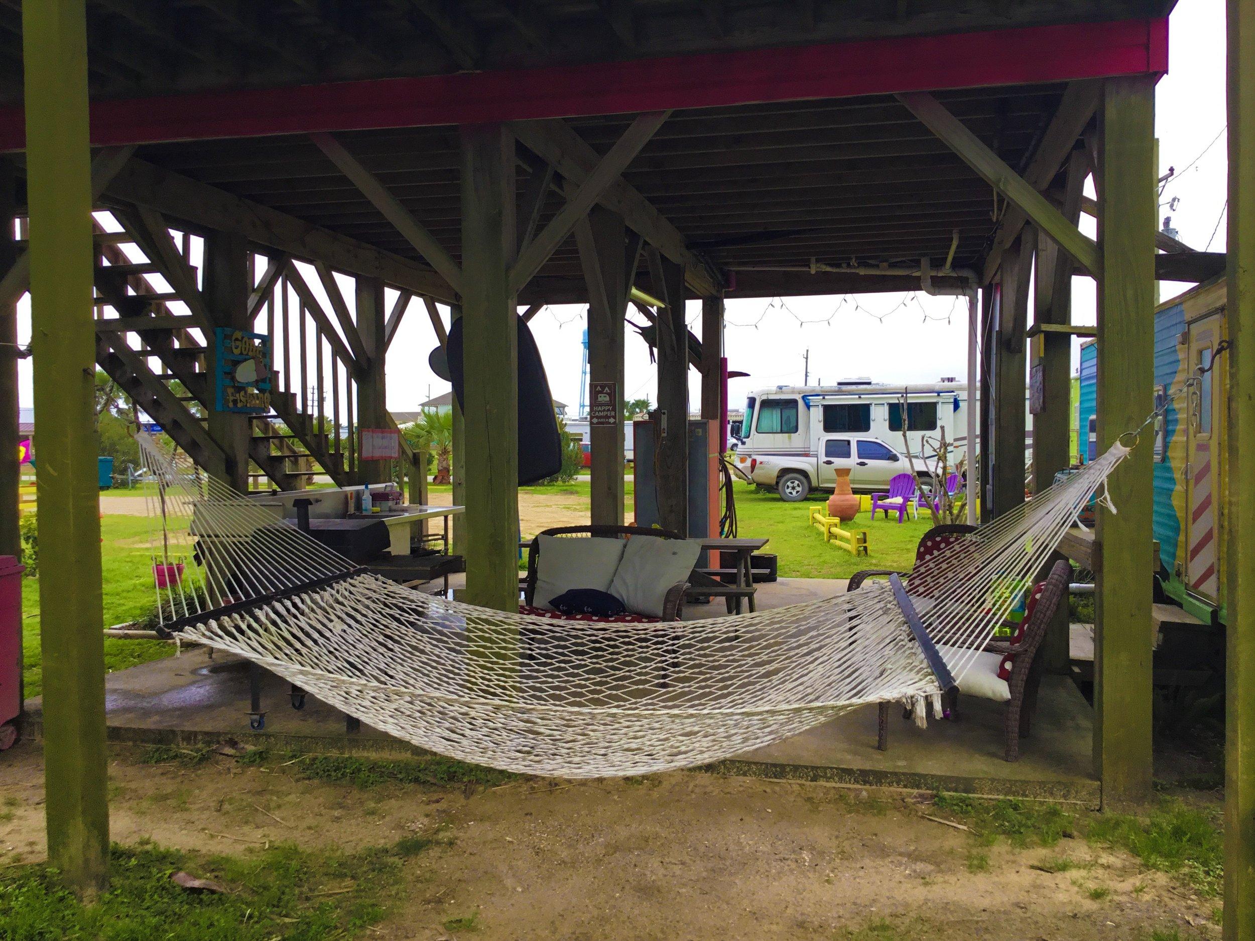 Plenty of hammocks too!