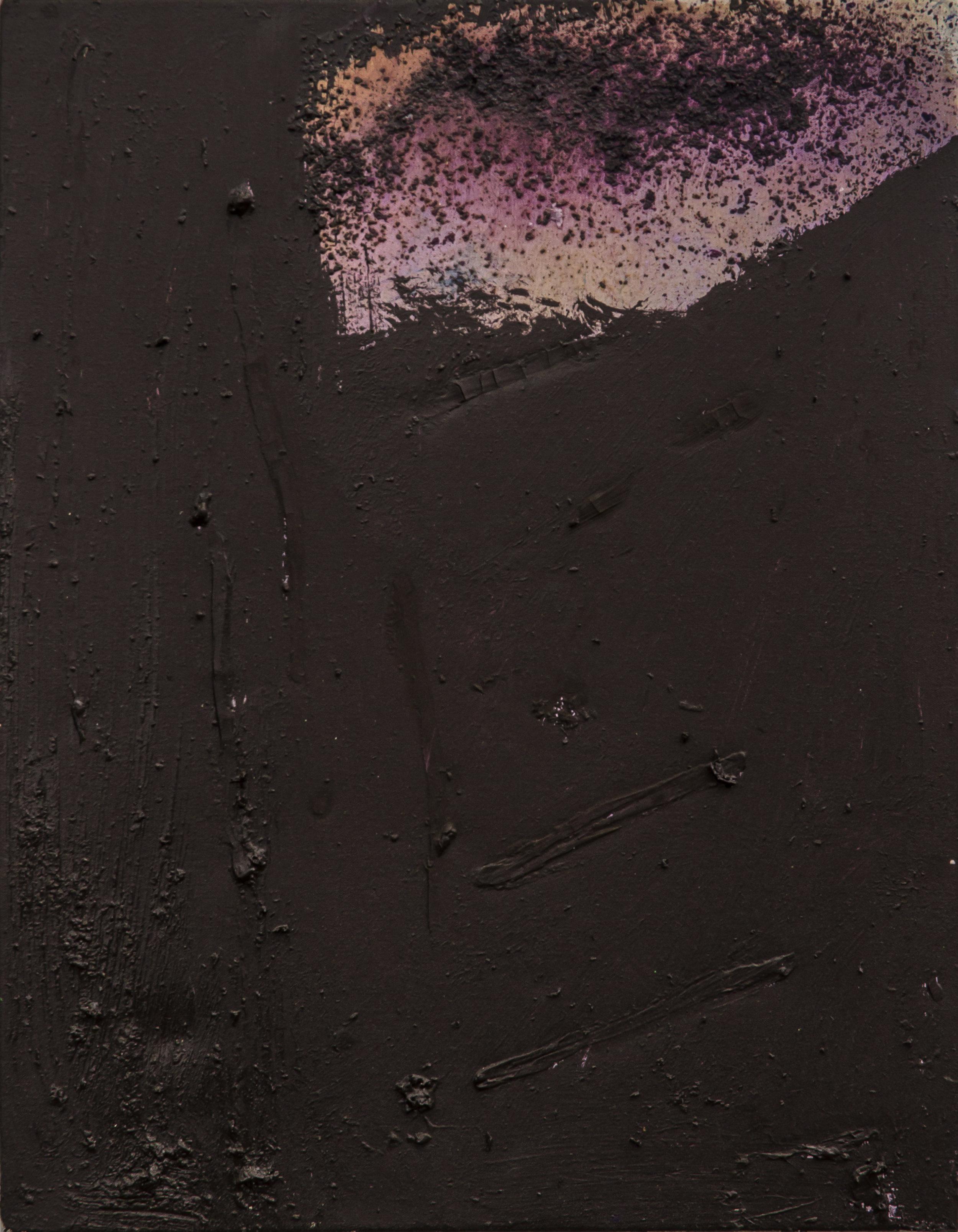 "Albedo.  Oil on canvas.    26"" x 20"". 2016."