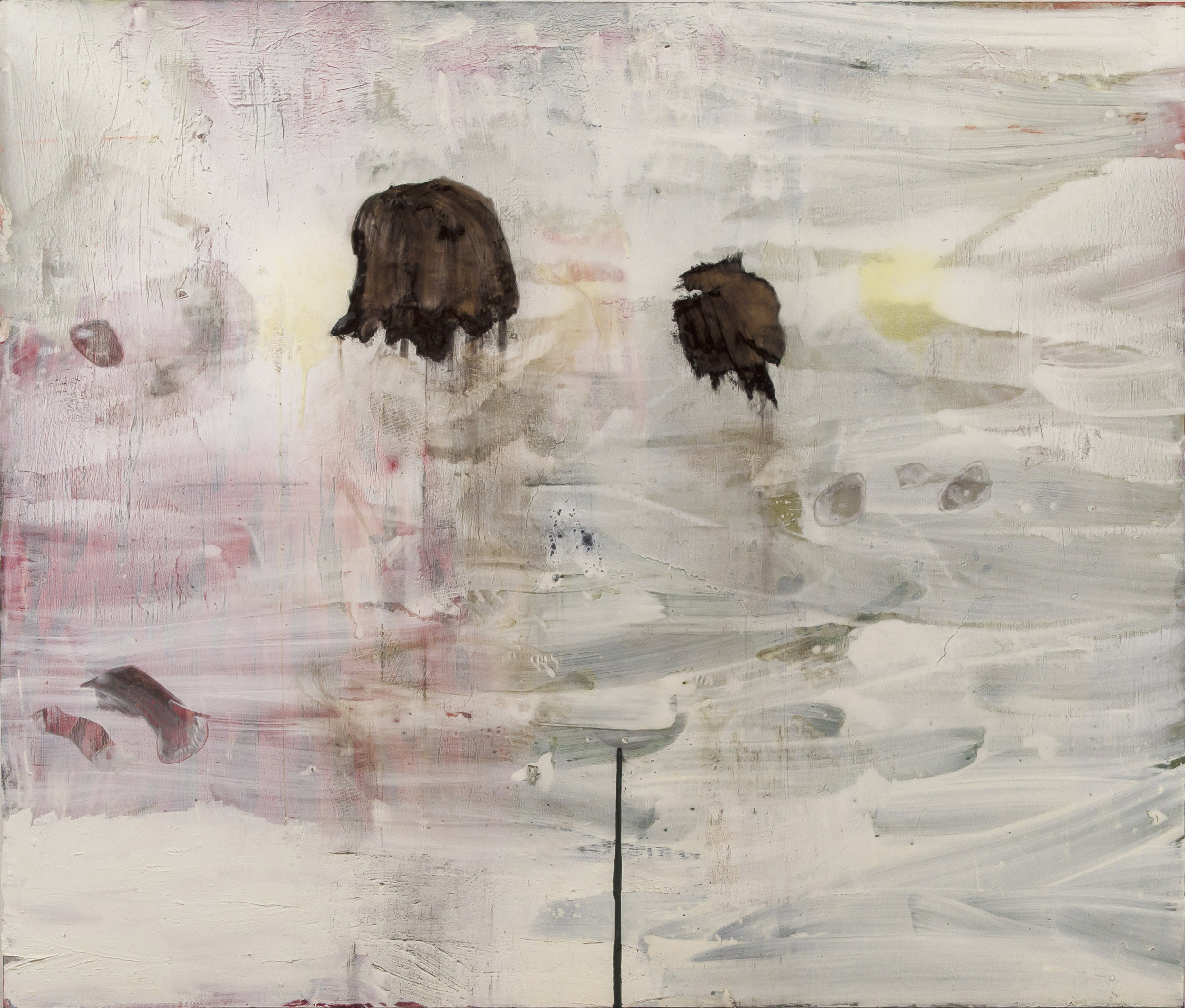 """Untitled . Oil on canvas.    72"""" x 96"""". 2016."""