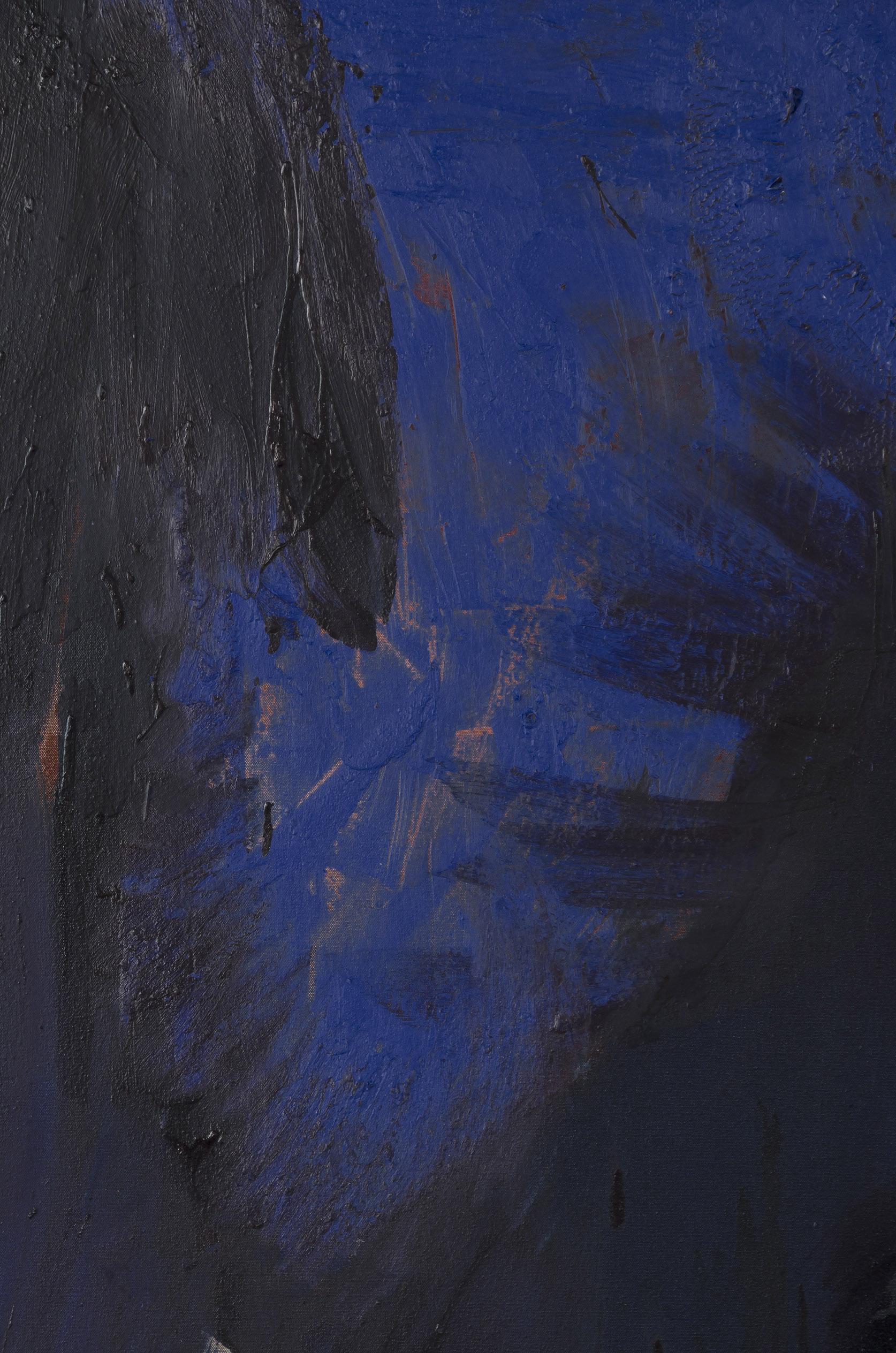 Neptune (detail) . Oil on canvas.    2015.