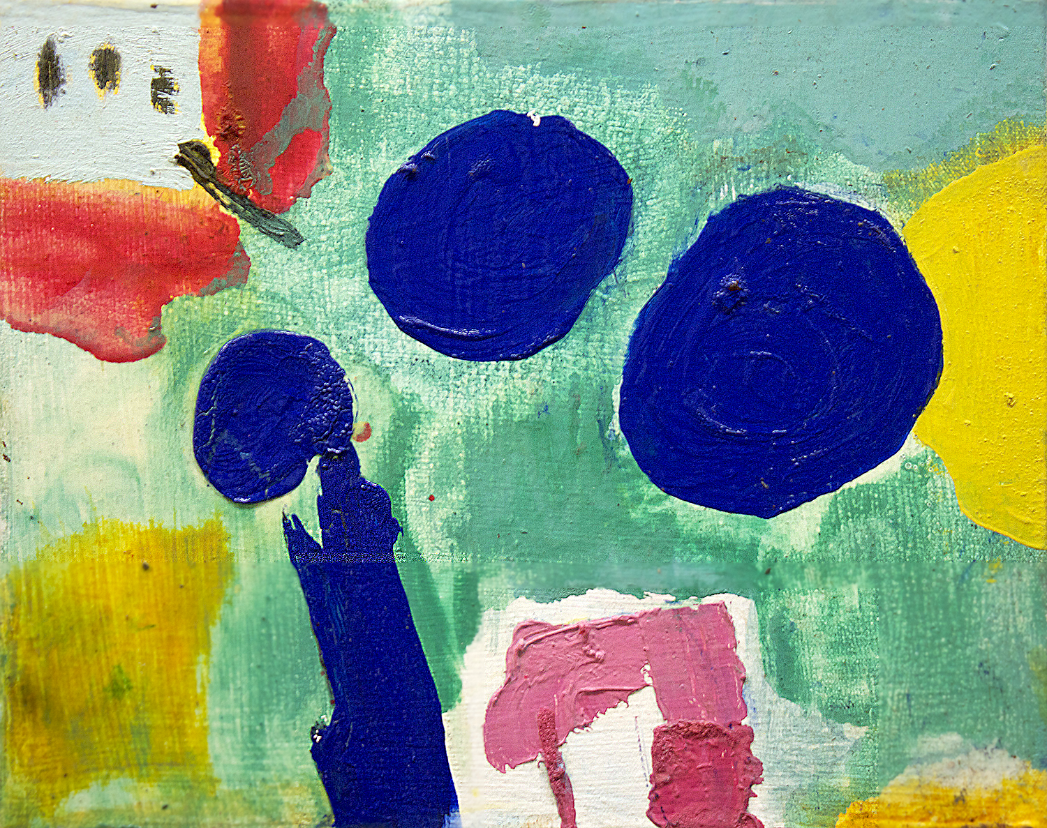 """The greatest day . Oil on canvas.    11"""" x 14"""". 2013."""