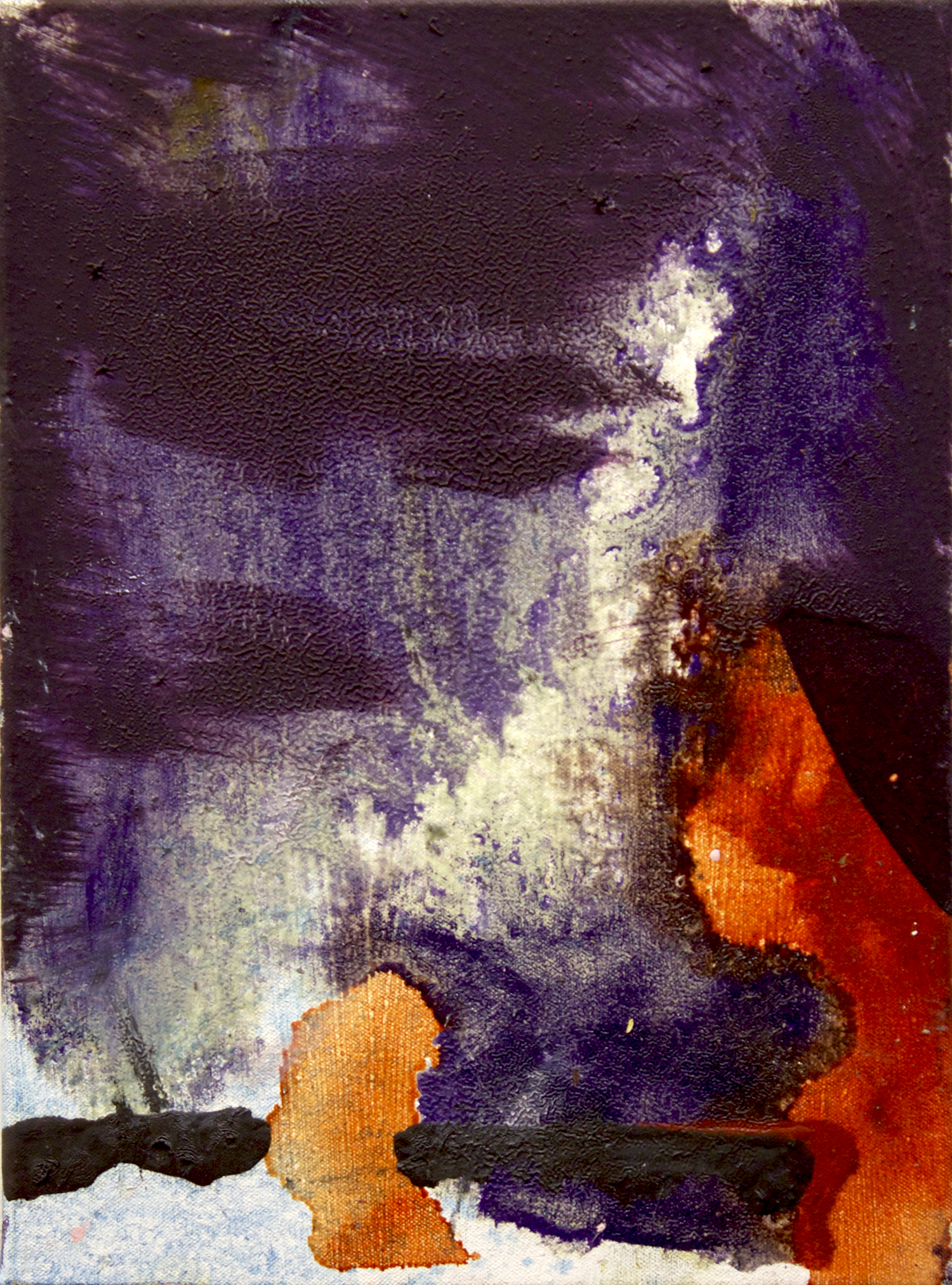 """Untitled . Oil on canvas.    18"""" x 12"""". 2013."""