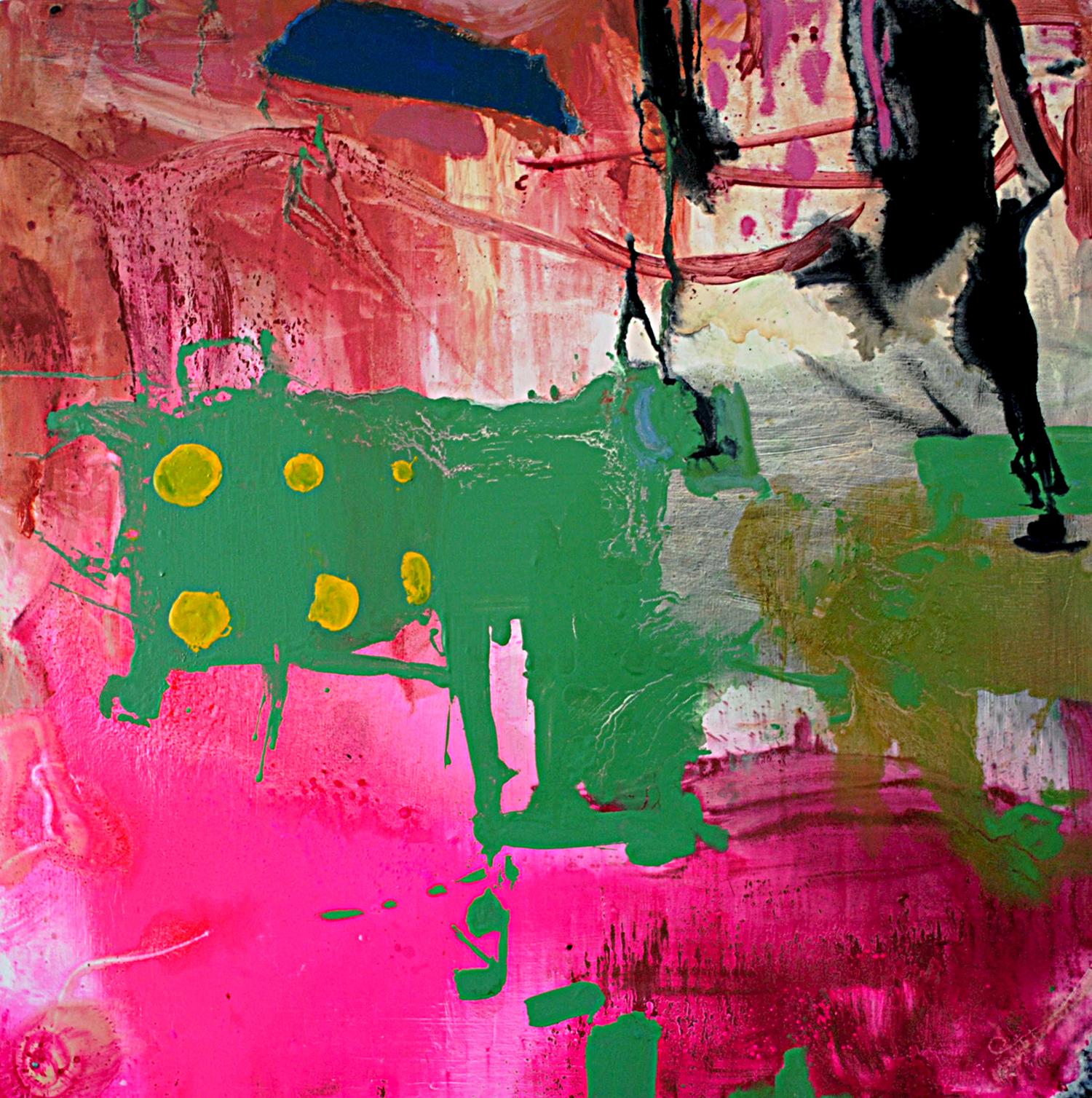 "-oid. Oil on canvas.    80"" x 80"". 2012"