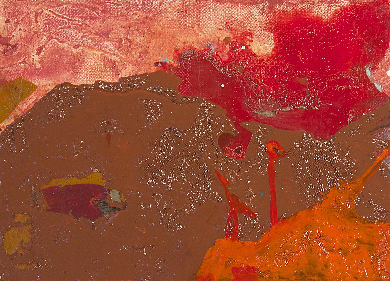 """tu quoque.  Oil on canvas.    13"""" x 17"""". 2012"""