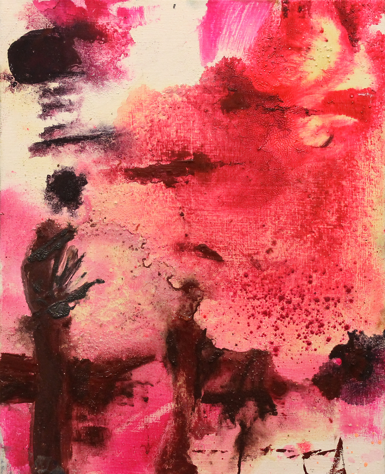 """To and Fro . Oil on canvas.    22"""" x 14"""". 2012."""